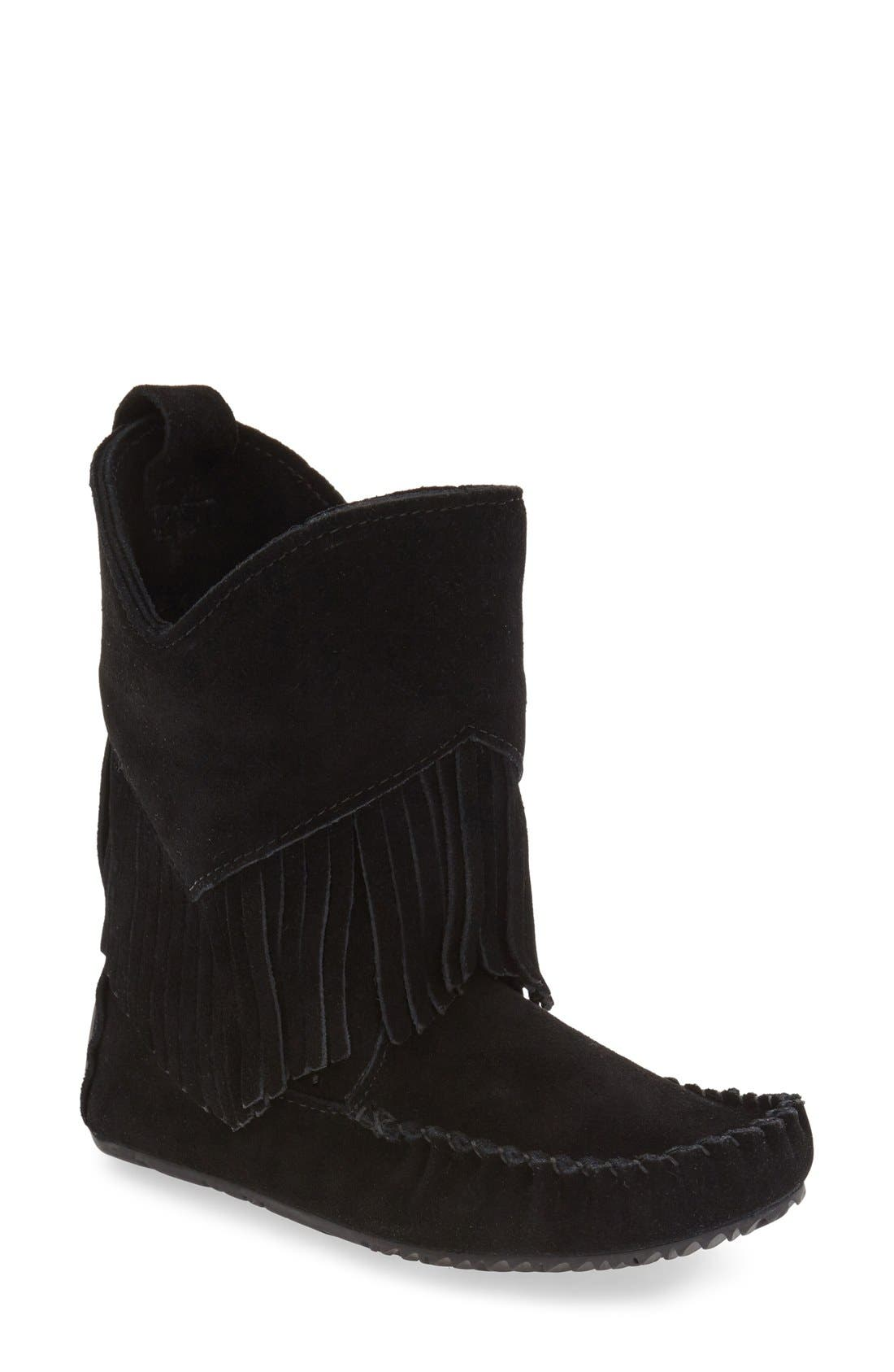 'Okotoks' Suede Boot,                         Main,                         color, 001