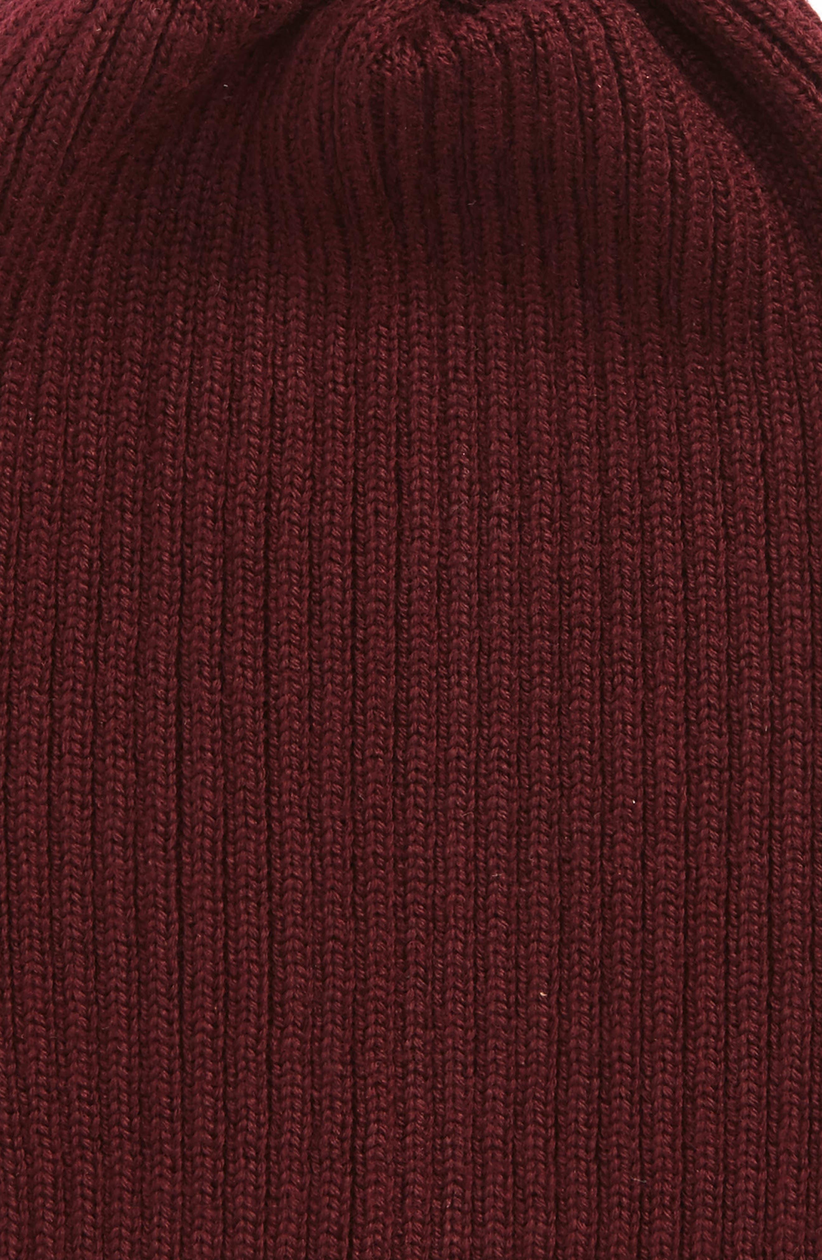 Rib Knit Wool Beanie,                             Alternate thumbnail 13, color,