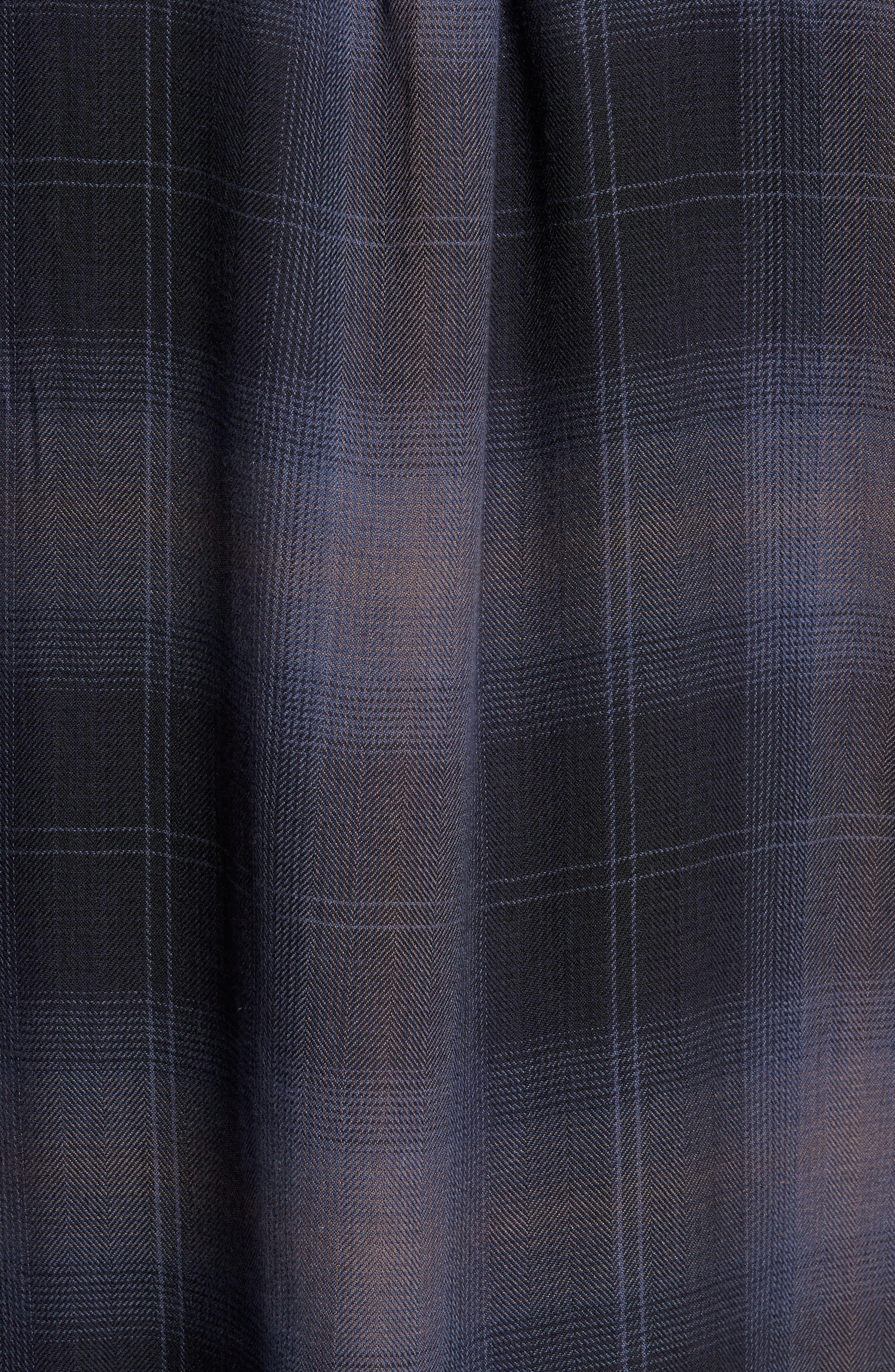 Lennox Sport Shirt,                             Alternate thumbnail 5, color,                             CHARCOAL/ BLACK