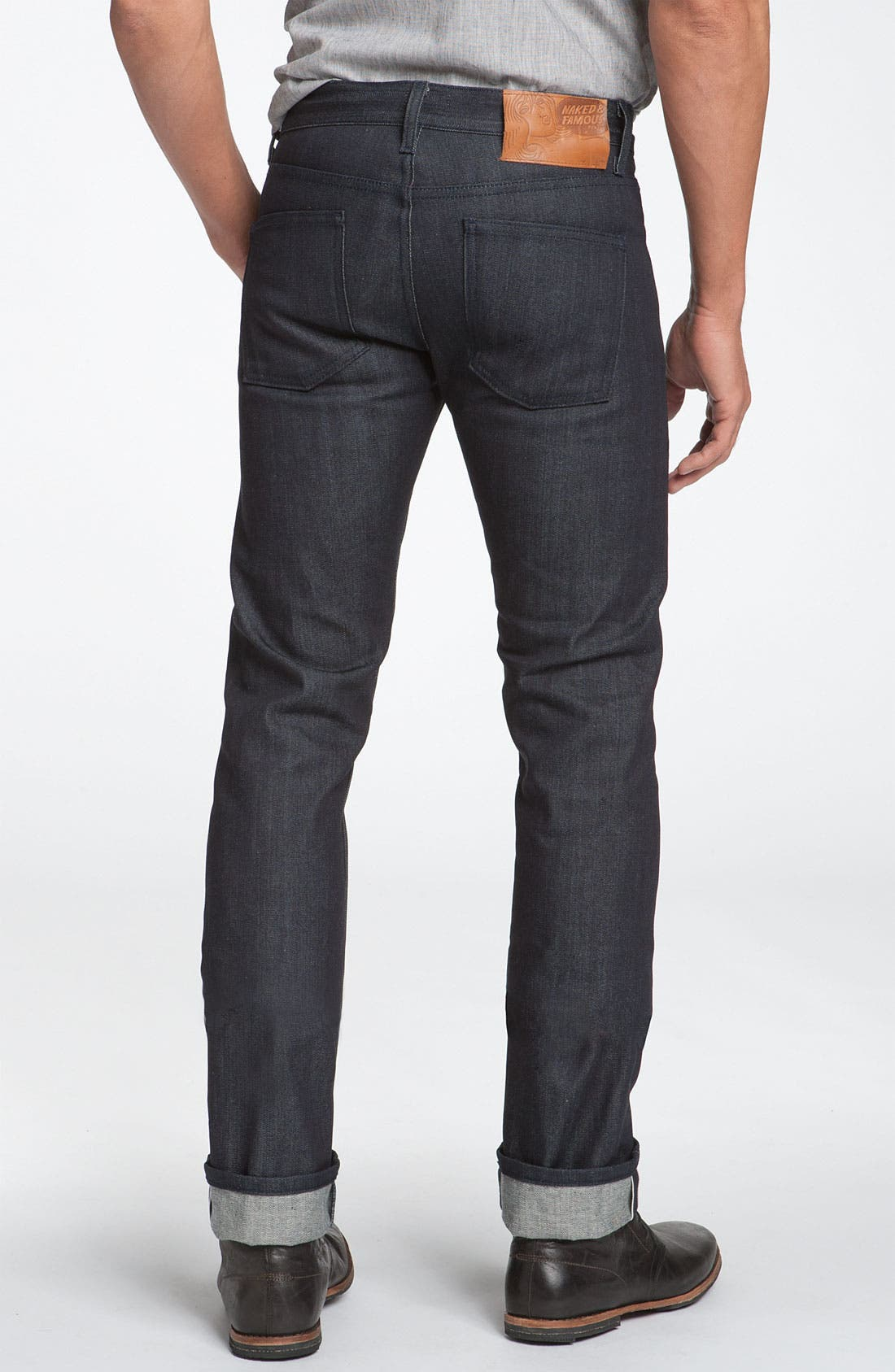 Naked & Famous 'Skinny Guy' Jeans, Main, color, 401