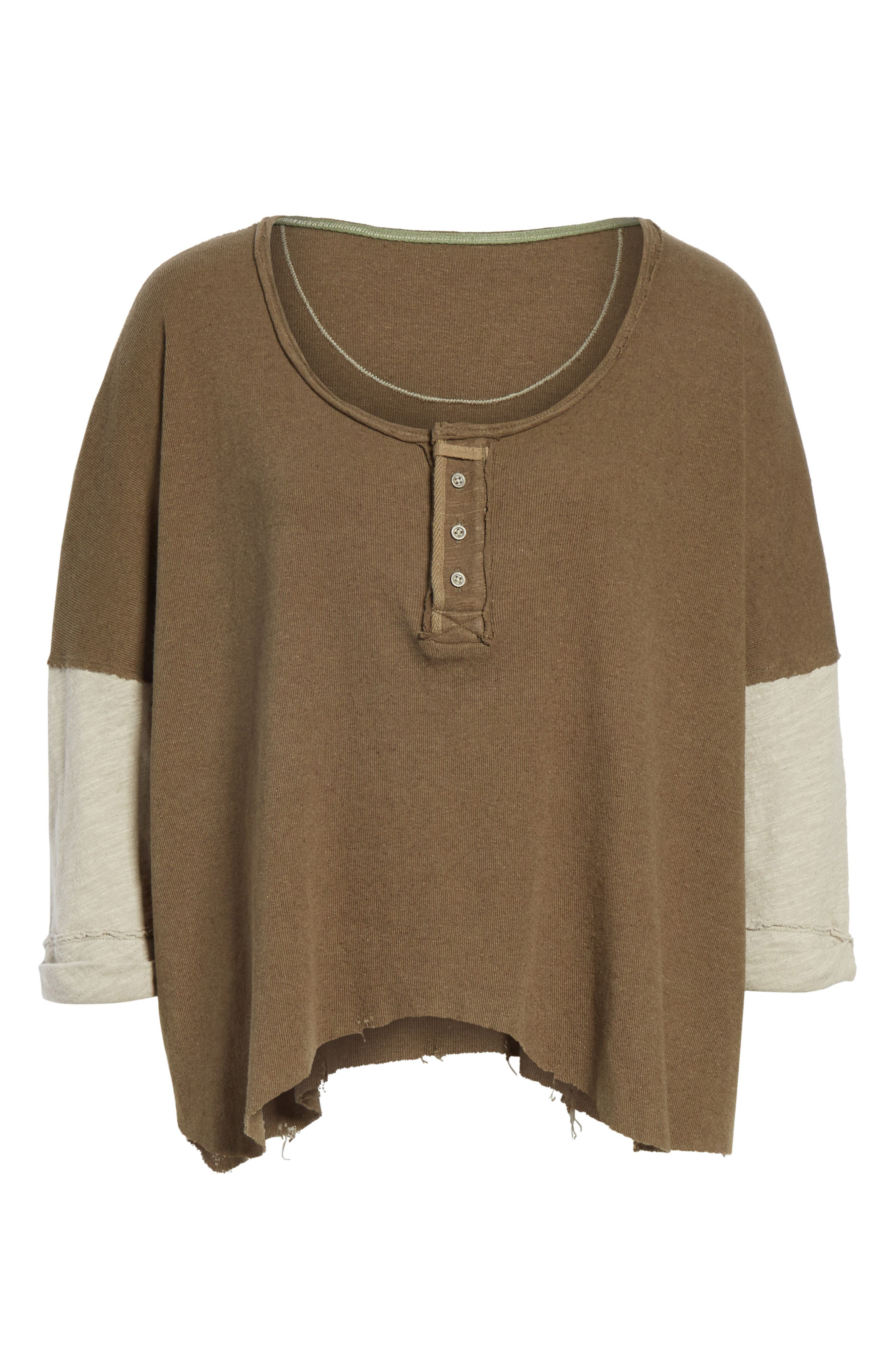 We the Free Star Henley Top,                             Alternate thumbnail 6, color,                             352