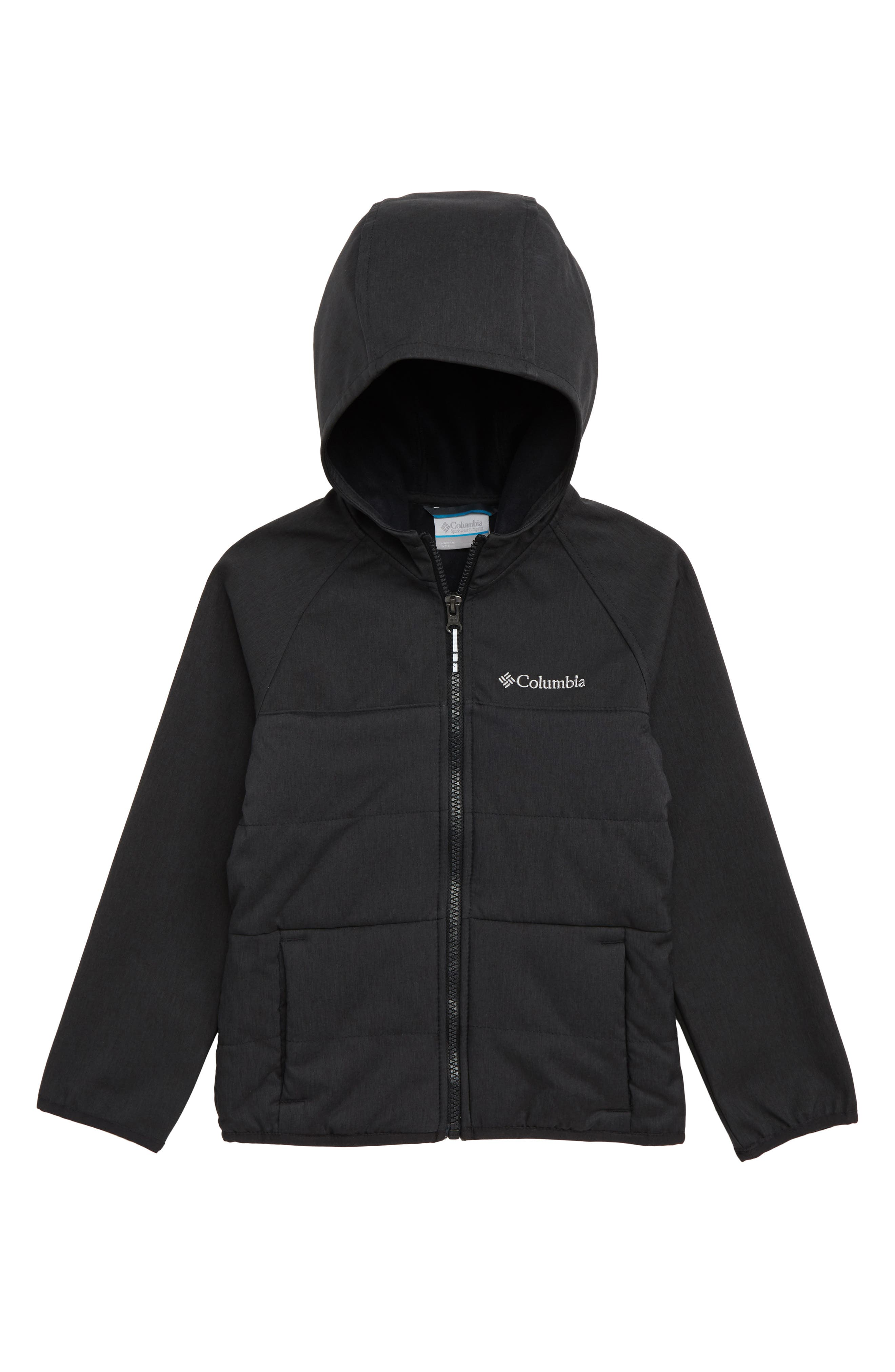 Take a Hike<sup>™</sup> Omni-Shield<sup>™</sup> Water Repellent & Windproof Insulated Jacket,                             Main thumbnail 1, color,                             010