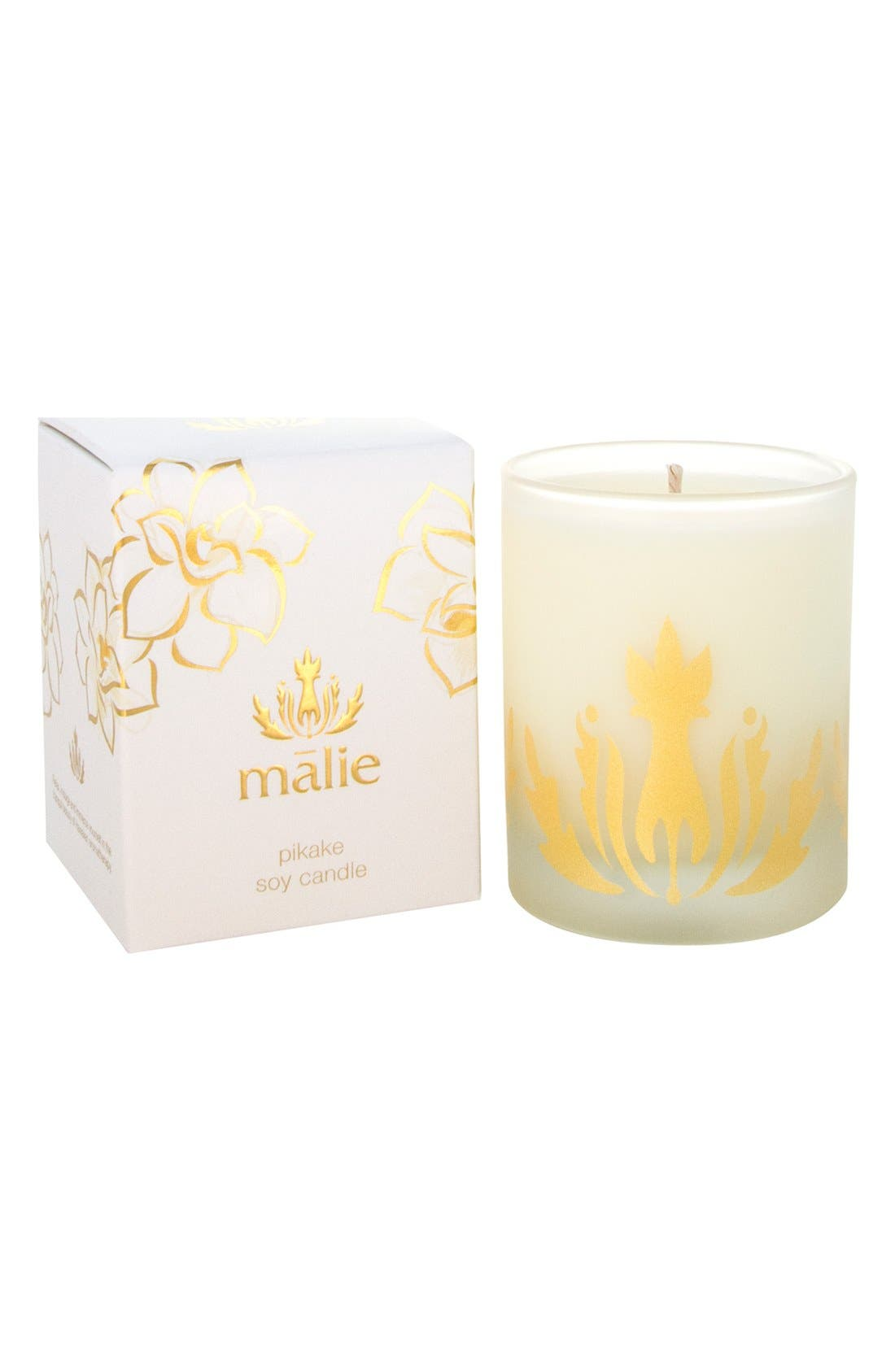MALIE ORGANICS 'Pikake' Soy Candle, Main, color, 000