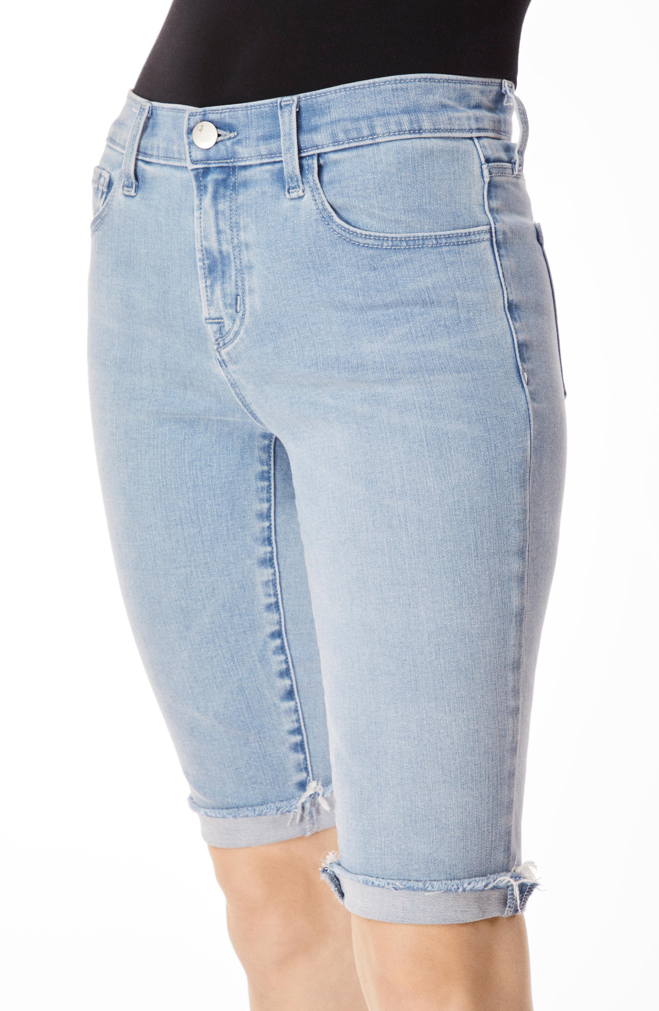 811 Skinny Bermuda Shorts,                             Alternate thumbnail 4, color,                             VERITY