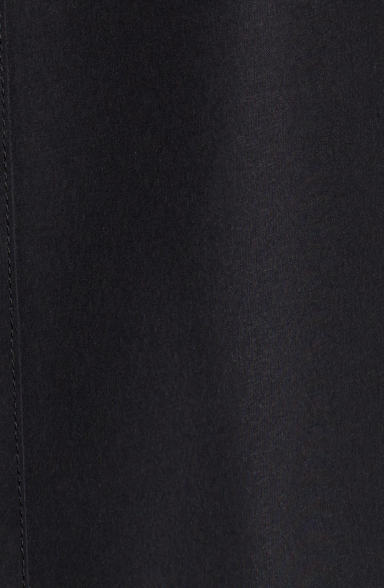 Ducasse Raincoat,                             Alternate thumbnail 6, color,                             BLACK