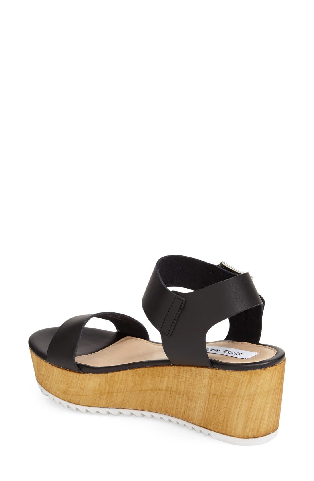 'Nylee' Platform Sandal,                             Alternate thumbnail 4, color,                             001