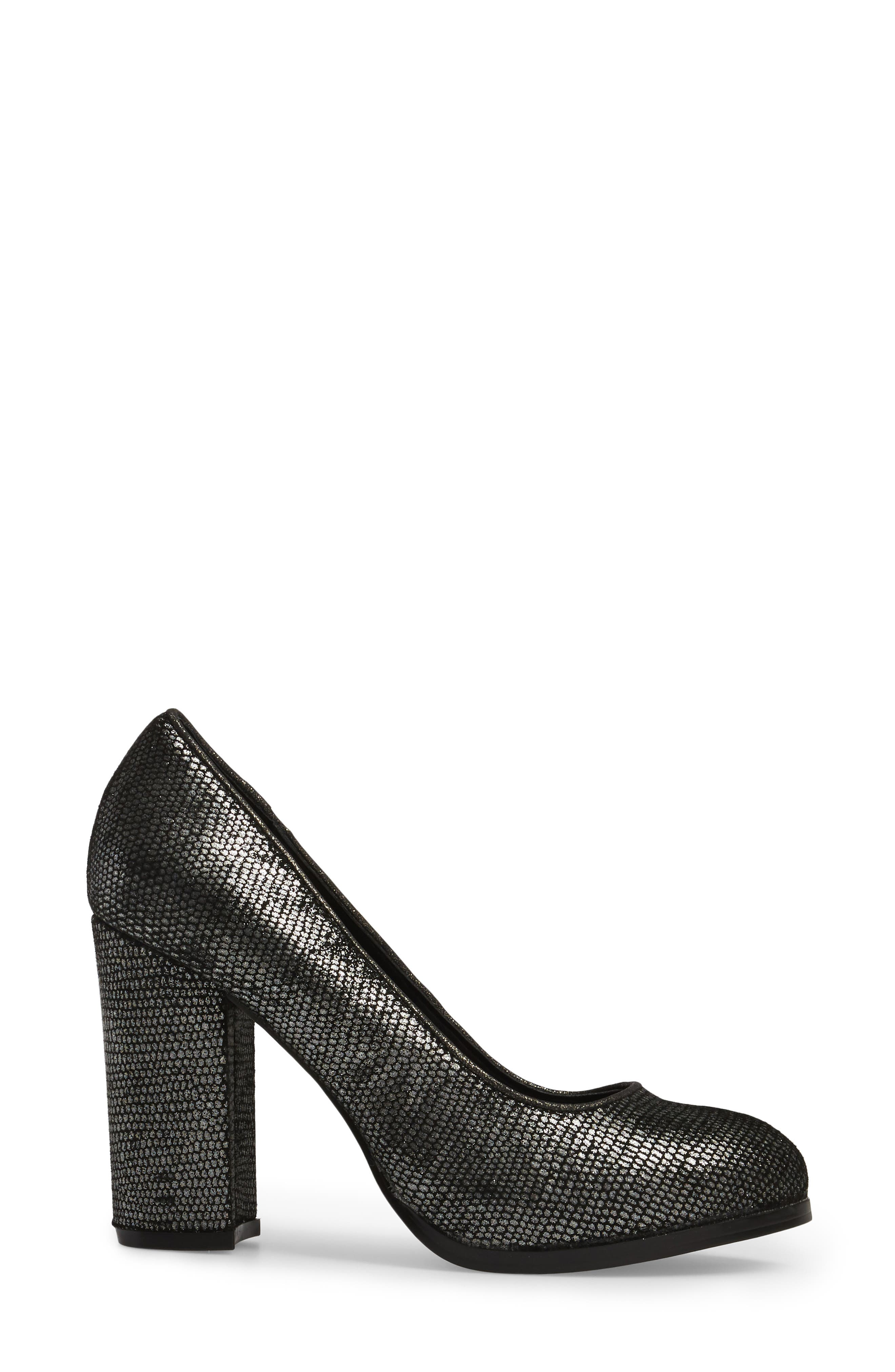 Hayley Pump,                             Alternate thumbnail 3, color,                             PEWTER FABRIC
