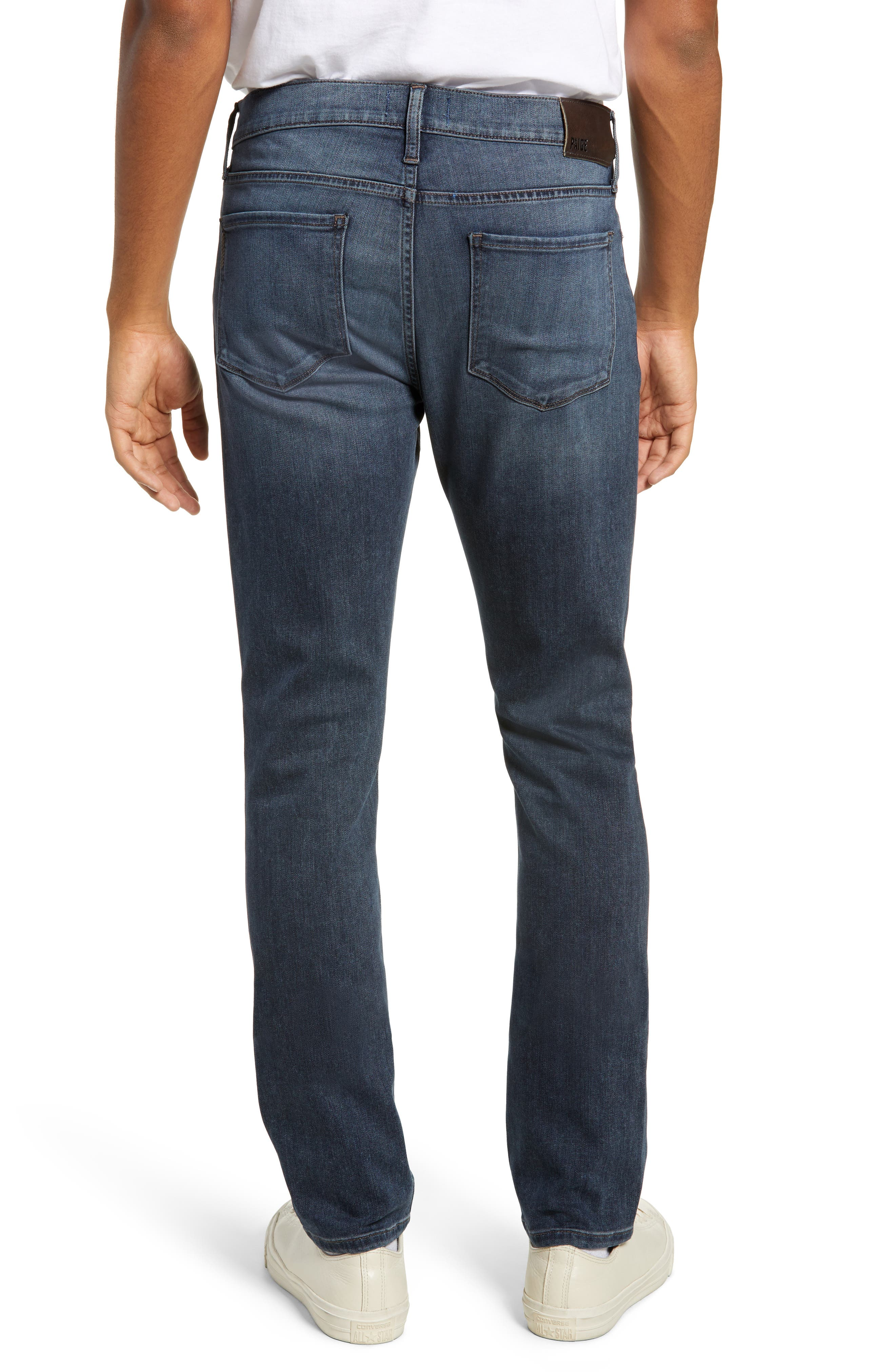 PAIGE,                             Transcend - Federal Slim Straight Leg Jeans,                             Alternate thumbnail 2, color,                             GARNER