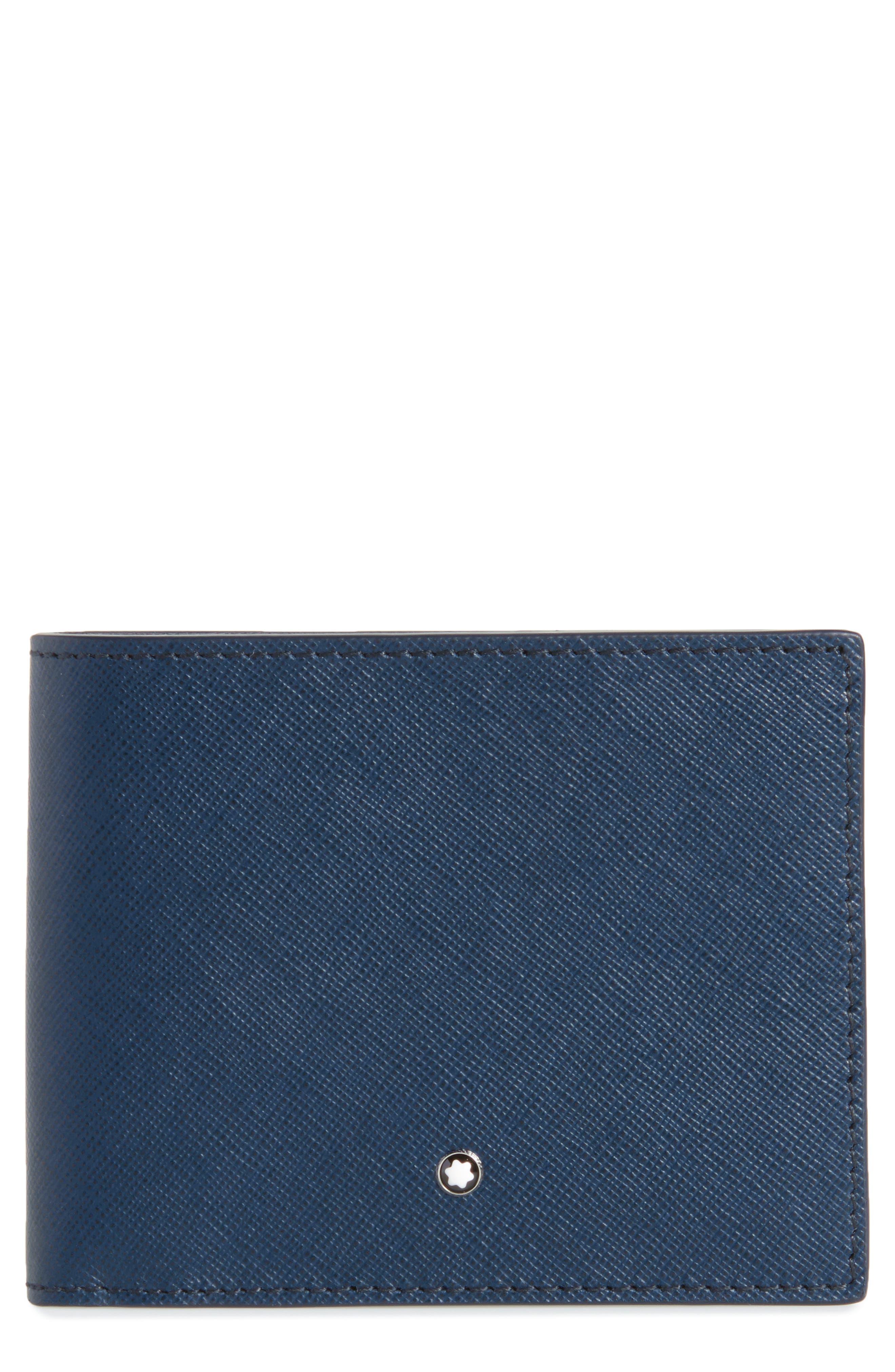 Sartorial Leather Bifold Wallet,                             Main thumbnail 2, color,
