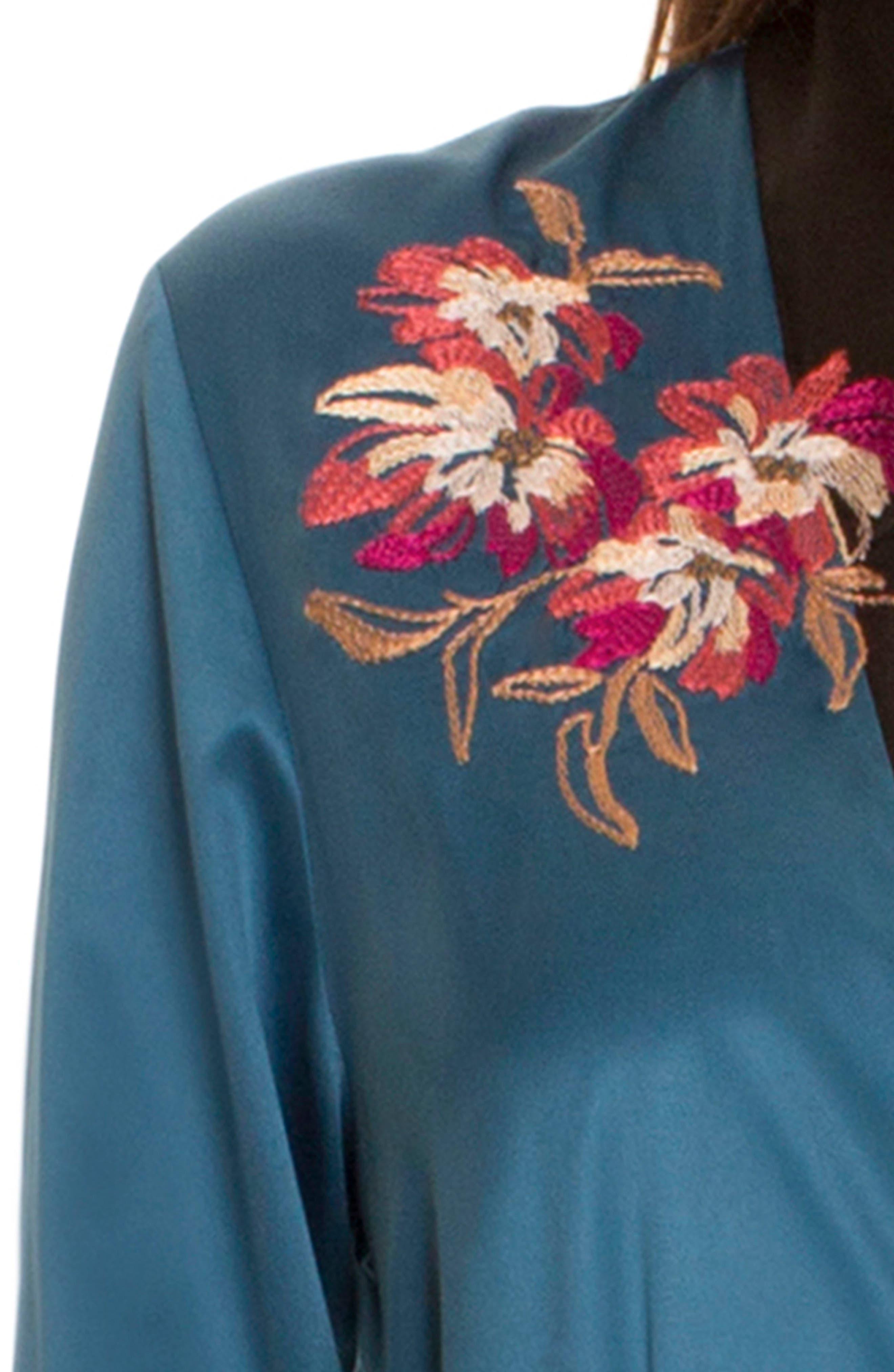 Kimono Robe,                             Alternate thumbnail 4, color,                             440