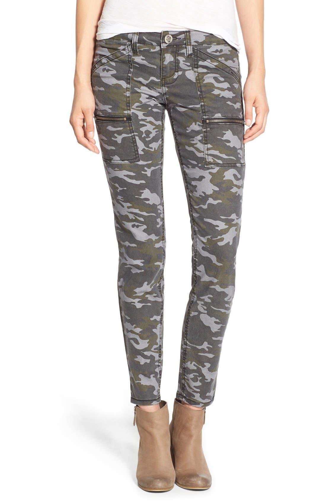 Camo Print Cargo Pants,                         Main,                         color, 317