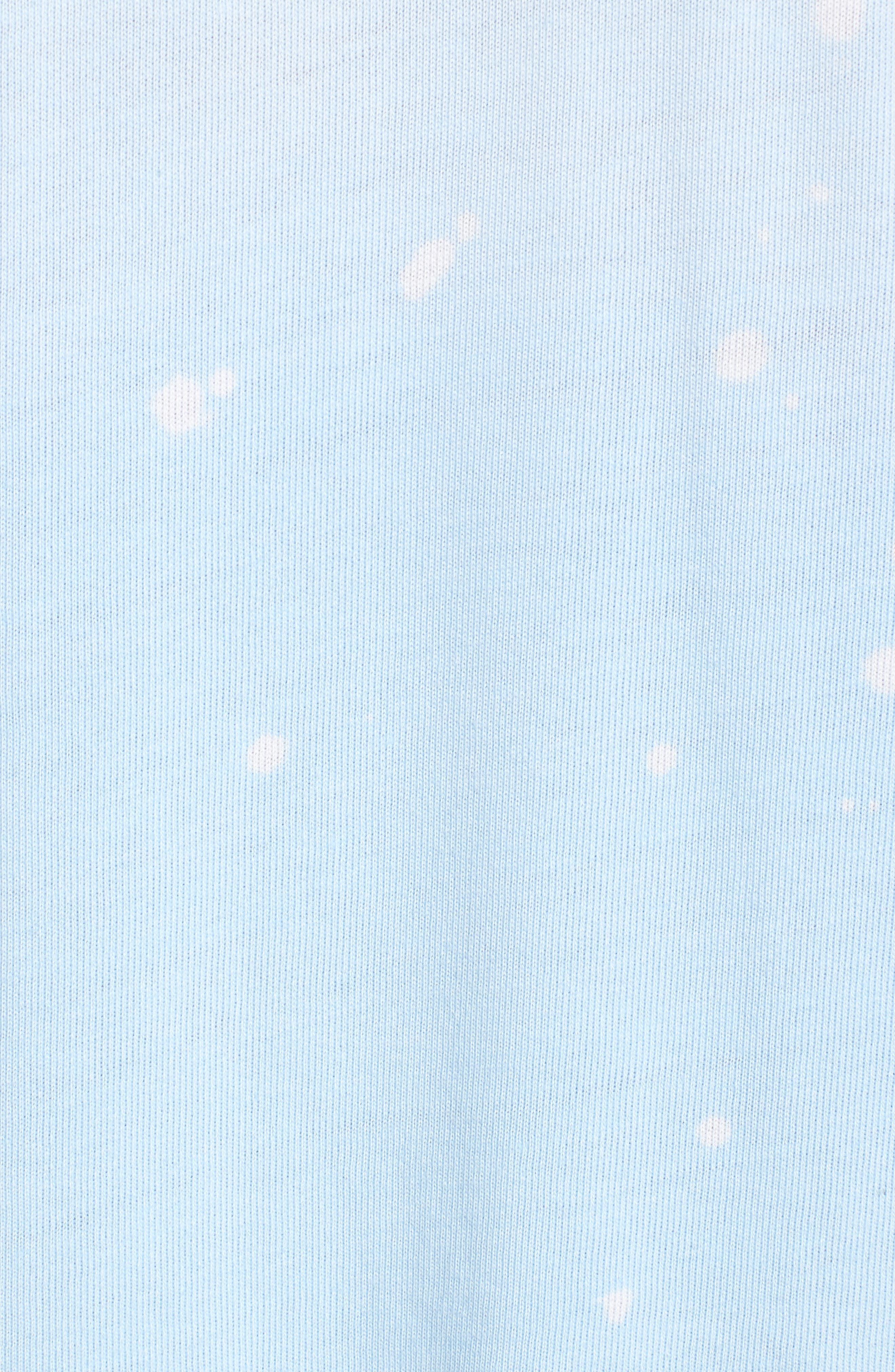 Coco Nuts Light Fleece Sweatshirt,                             Alternate thumbnail 6, color,                             SUN FADED SKY