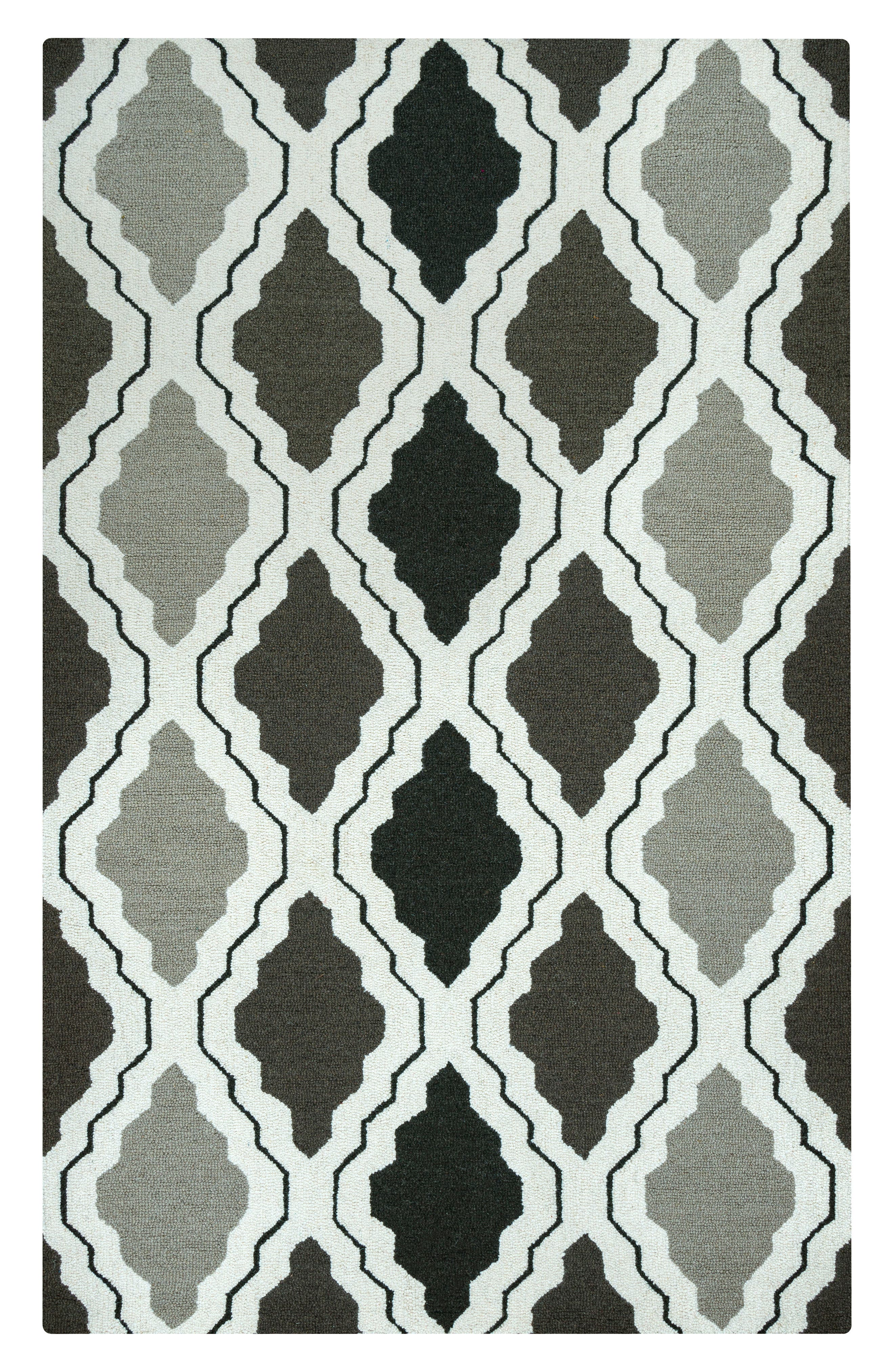 'Ogee' Wool Area Rug,                             Alternate thumbnail 2, color,                             030