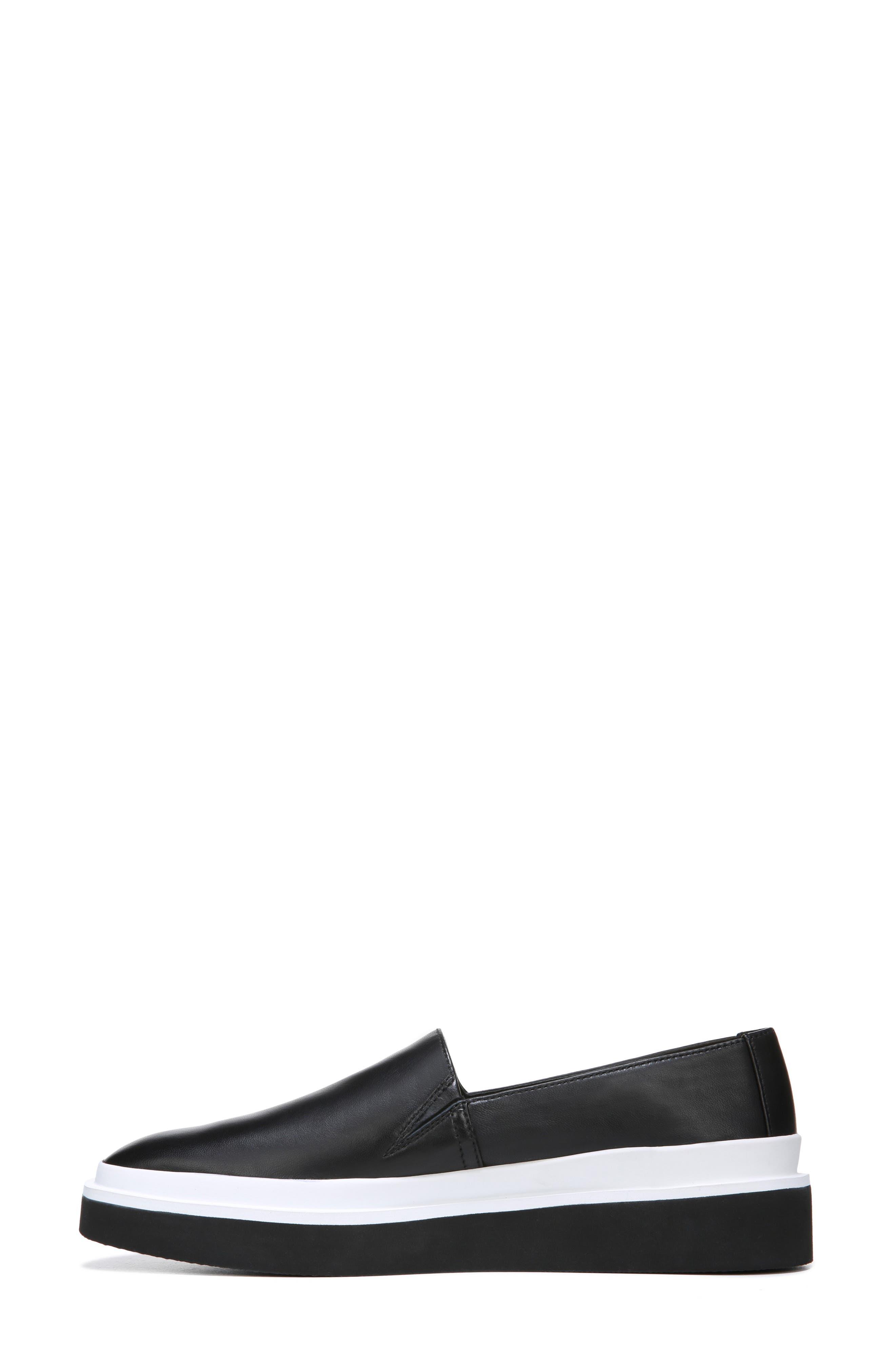 Travis Slip-on Sneaker,                             Alternate thumbnail 8, color,                             BLACK