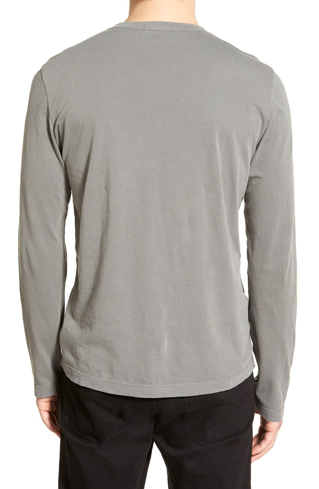 Long Sleeve Crewneck T-Shirt,                             Alternate thumbnail 49, color,