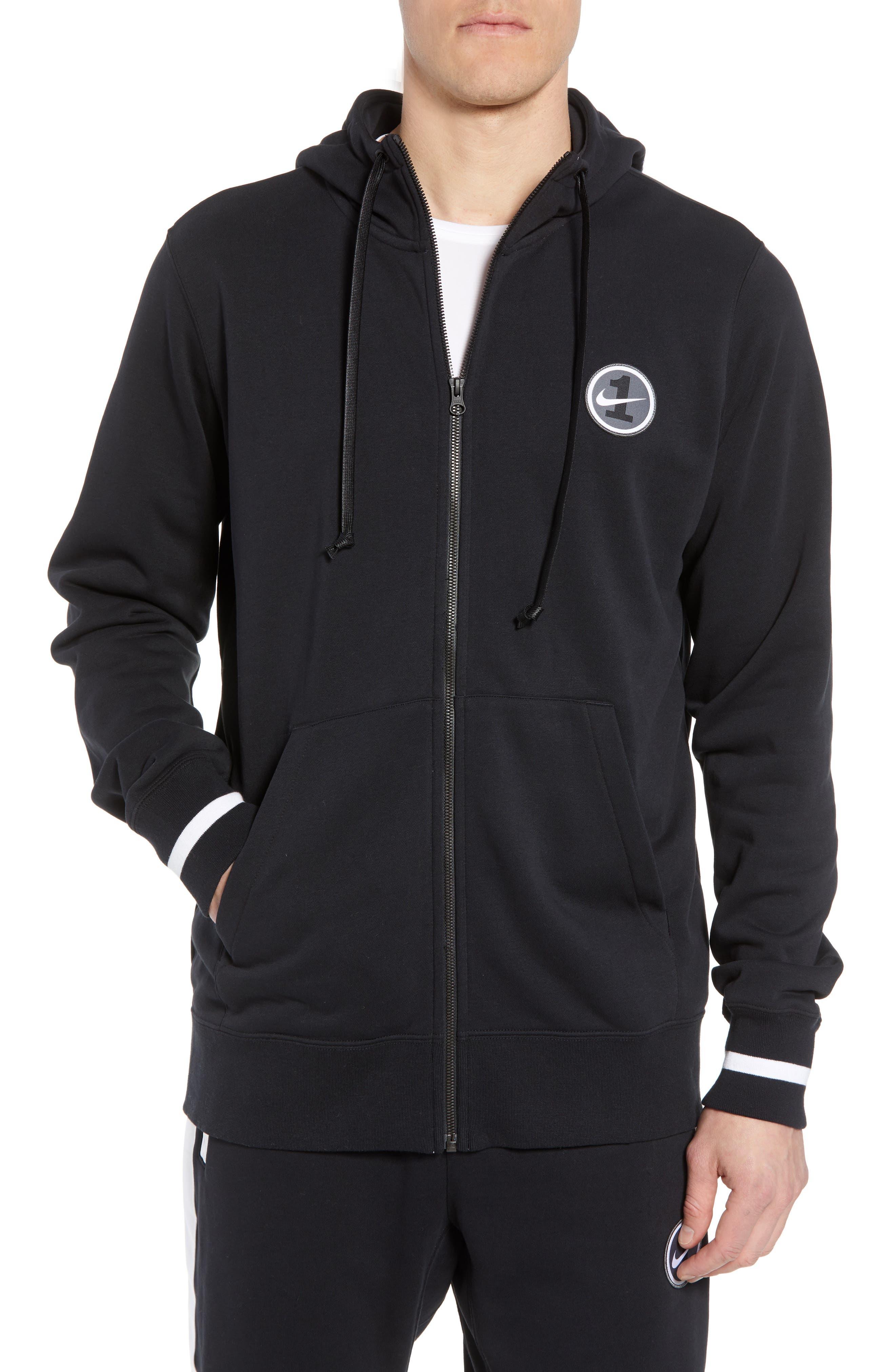 Sportswear Air Force 1 Full Zip Hoodie,                         Main,                         color, 010
