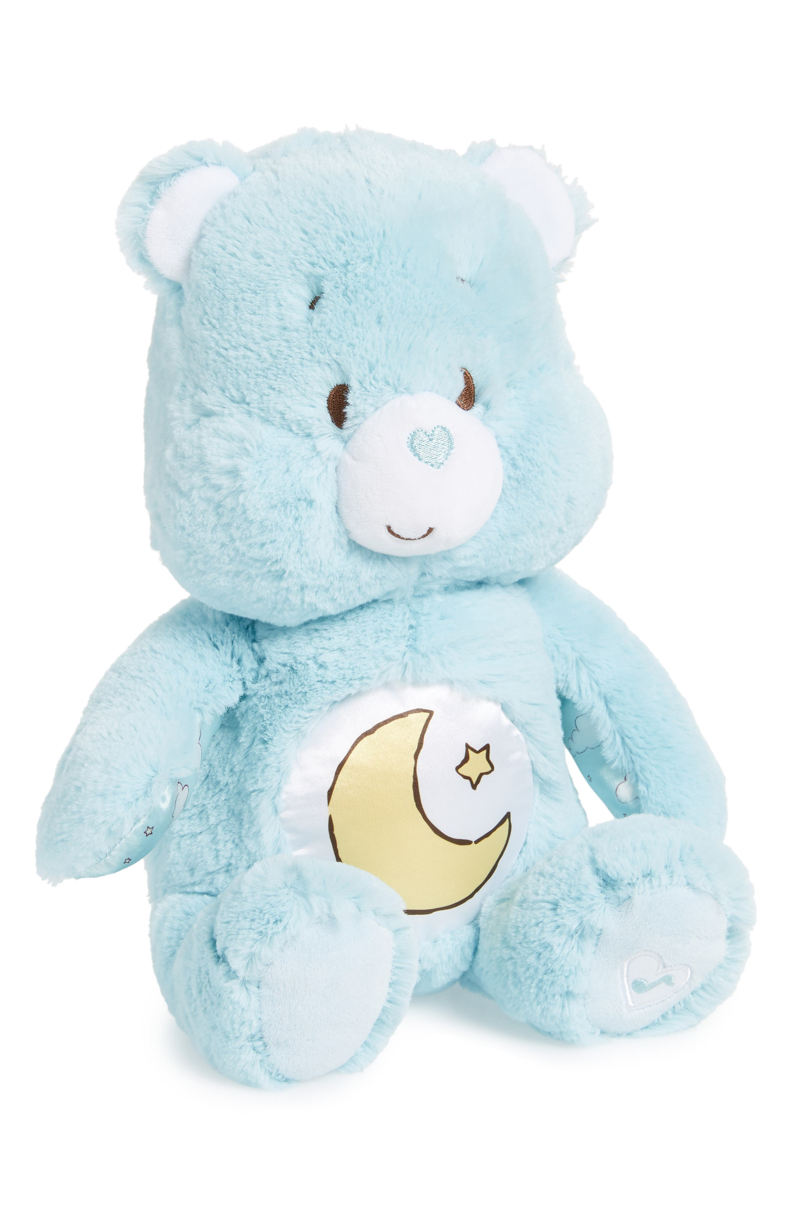 KIDS PREFERRED Care Bears Soother Bear Light-Up Plush Toy, Main, color, 400