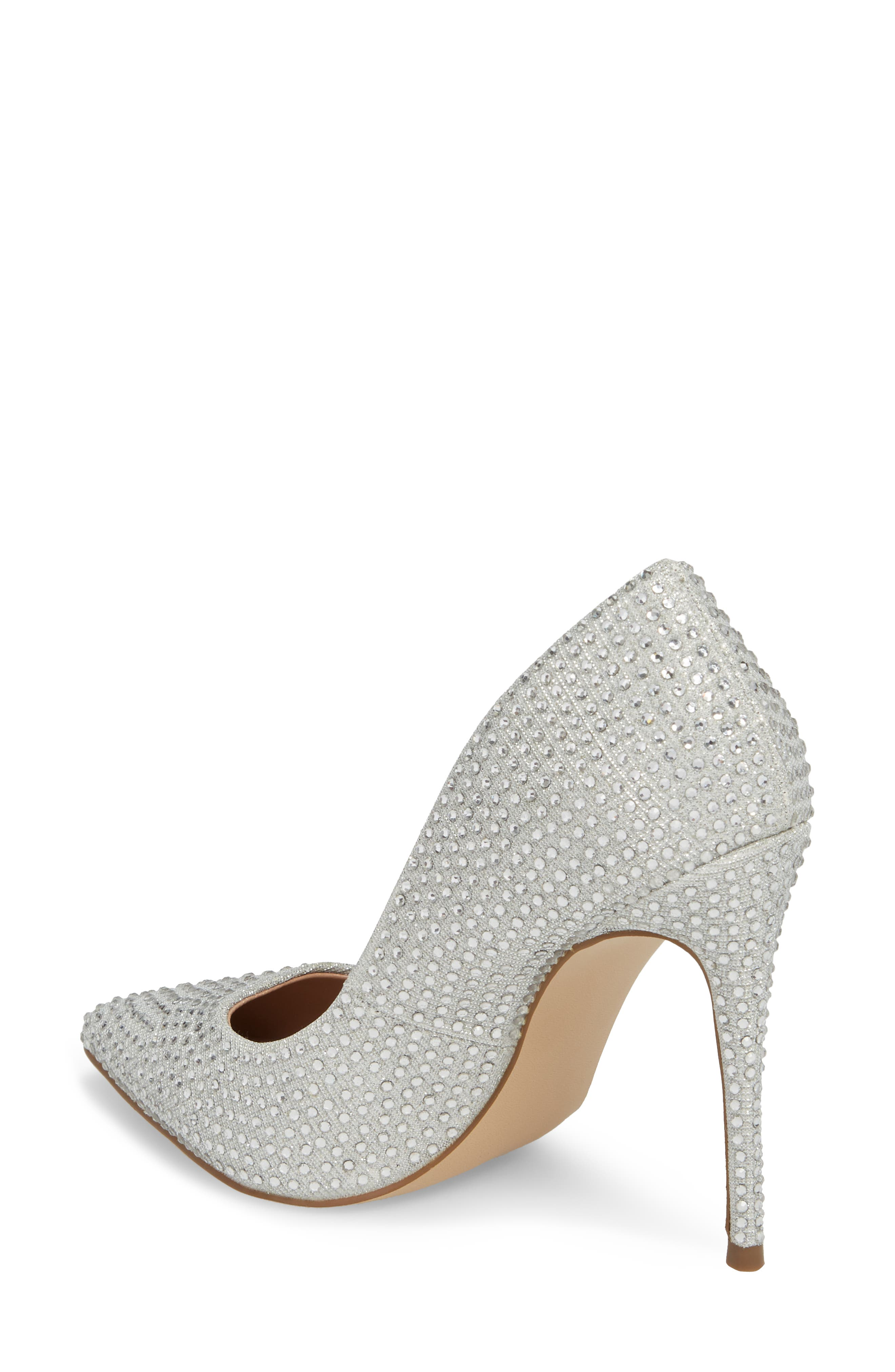 Daisie Pointy-Toe Pump,                             Alternate thumbnail 2, color,                             SILVER