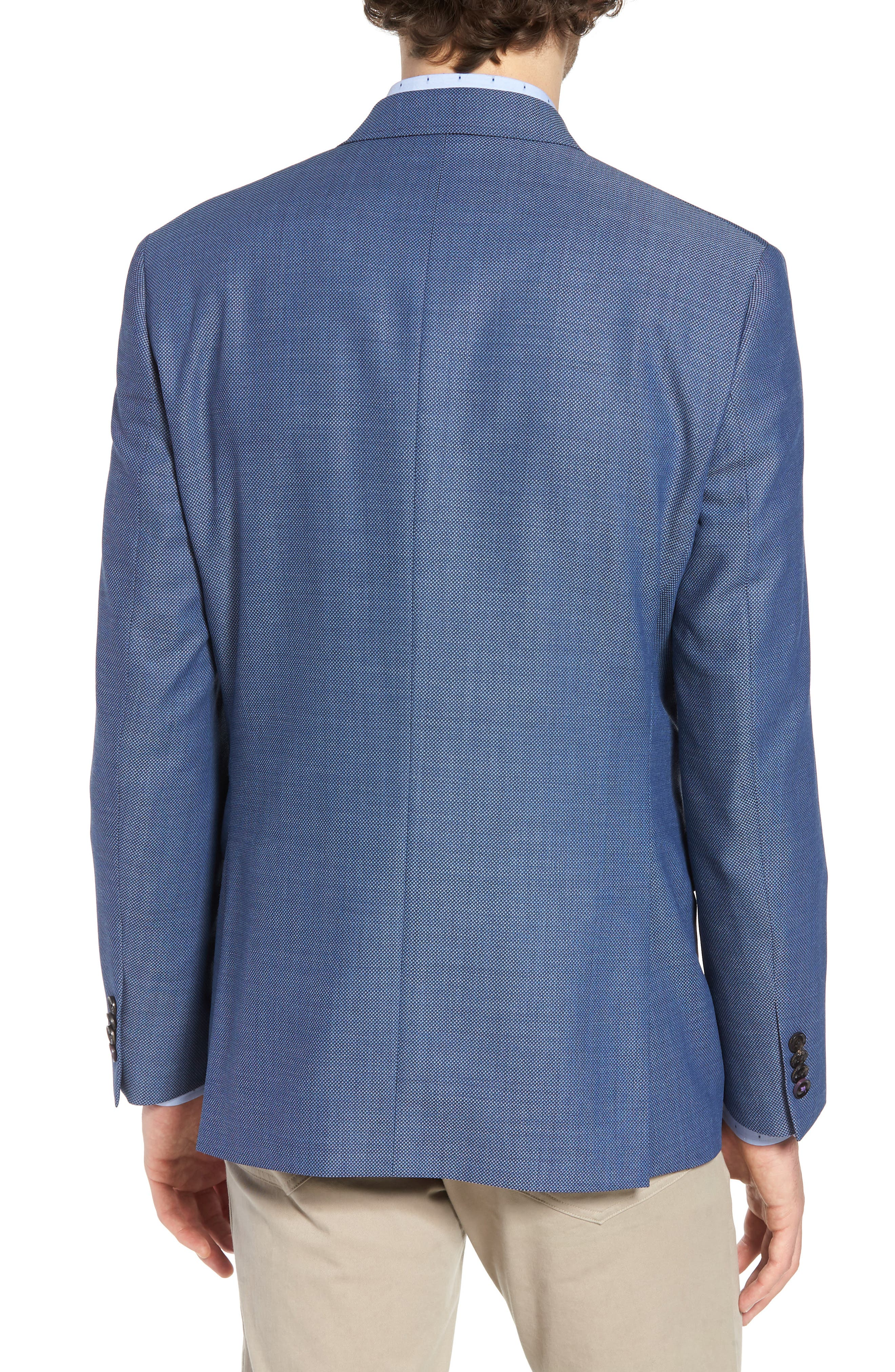 Jay Trim Fit Wool Blazer,                             Alternate thumbnail 2, color,                             400