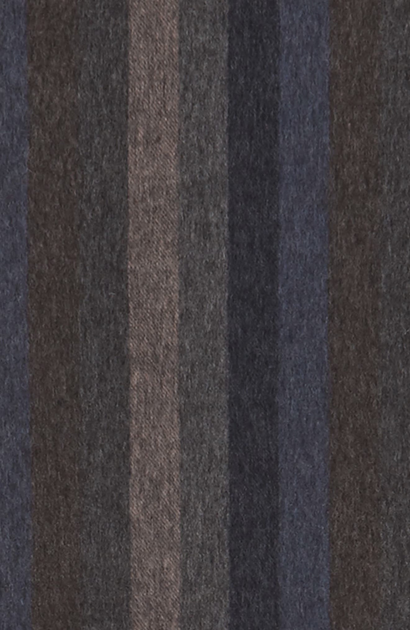 Lambswool Stripe Scarf,                             Alternate thumbnail 3, color,                             210