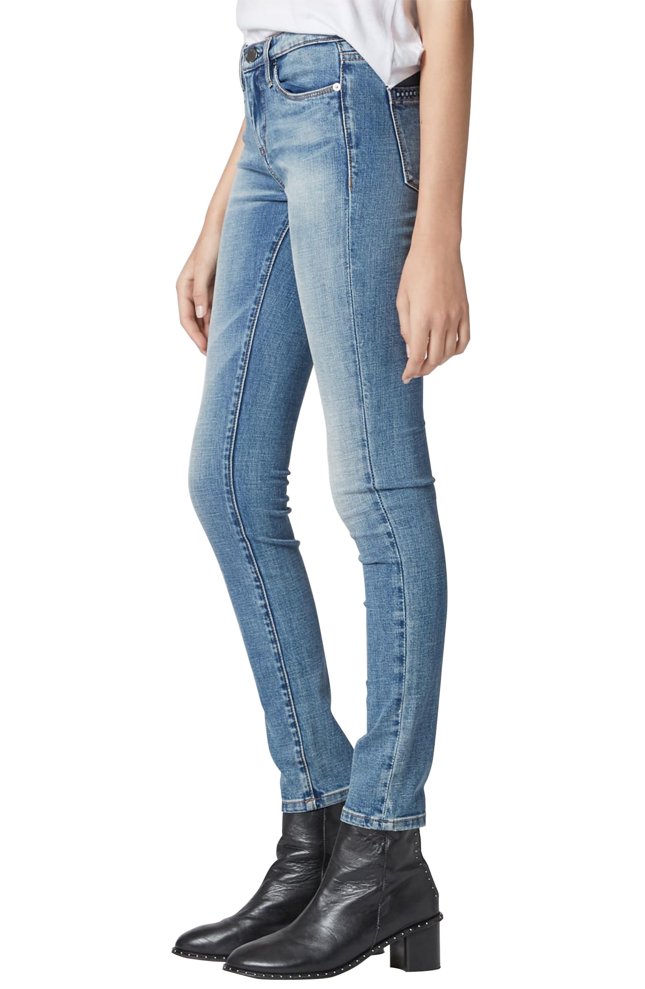 BLANKNYC,                             The Reade Skinny Jeans,                             Alternate thumbnail 3, color,                             LAGUNA BEACH