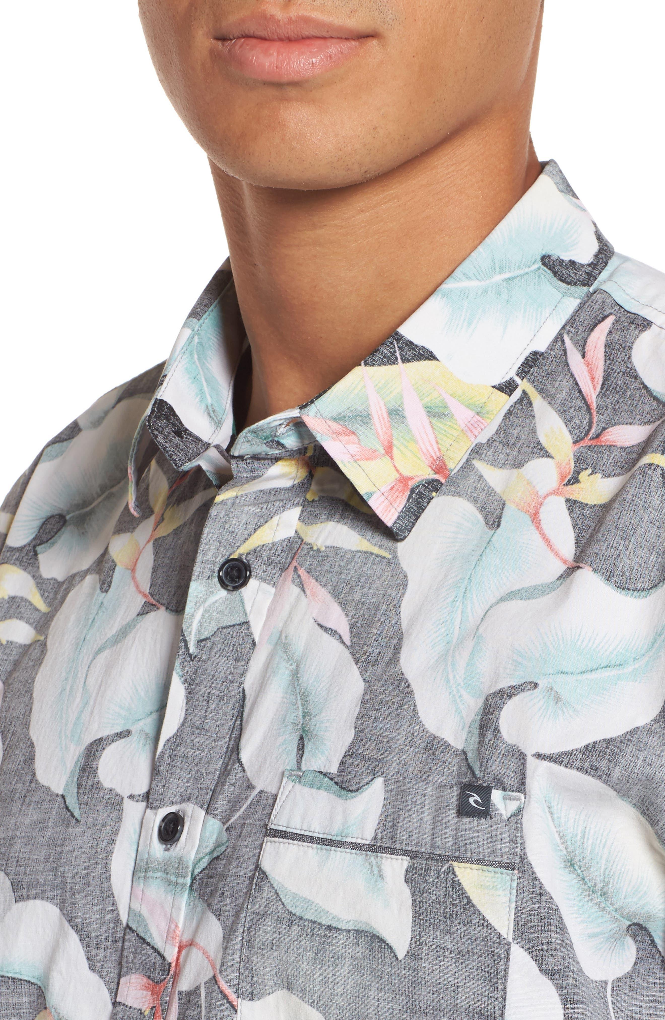Resort Sport Shirt,                             Alternate thumbnail 4, color,                             001