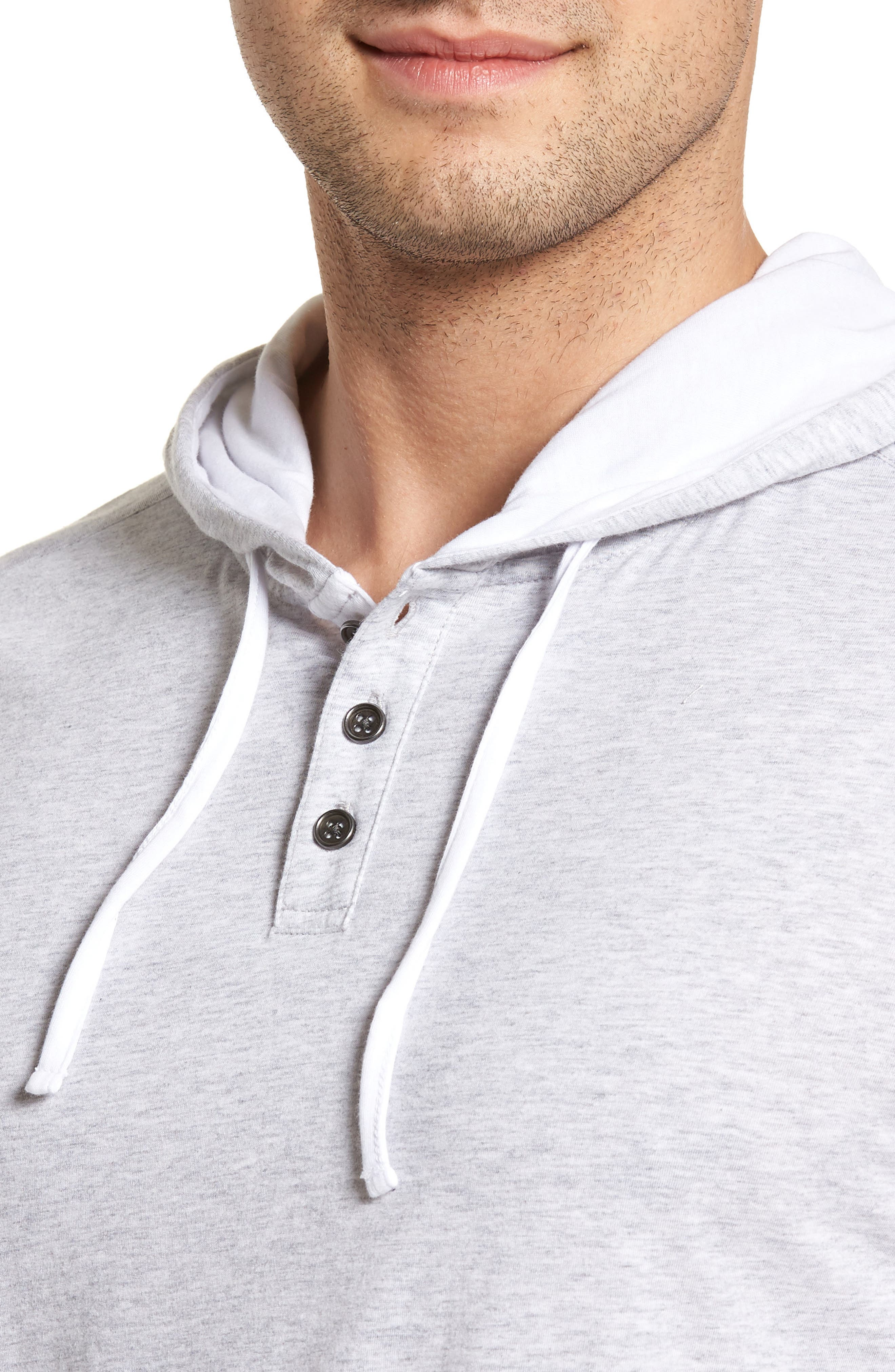 Carl Pullover Hoodie,                             Alternate thumbnail 4, color,                             DOVE GREY
