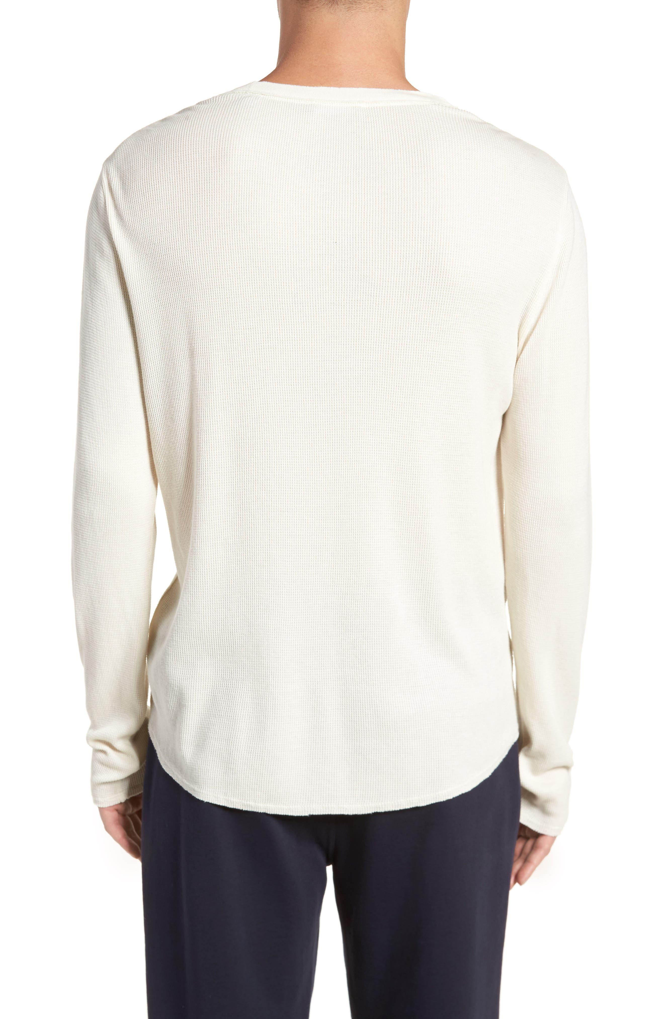 Thermal Knit Long Sleeve T-Shirt,                             Alternate thumbnail 5, color,