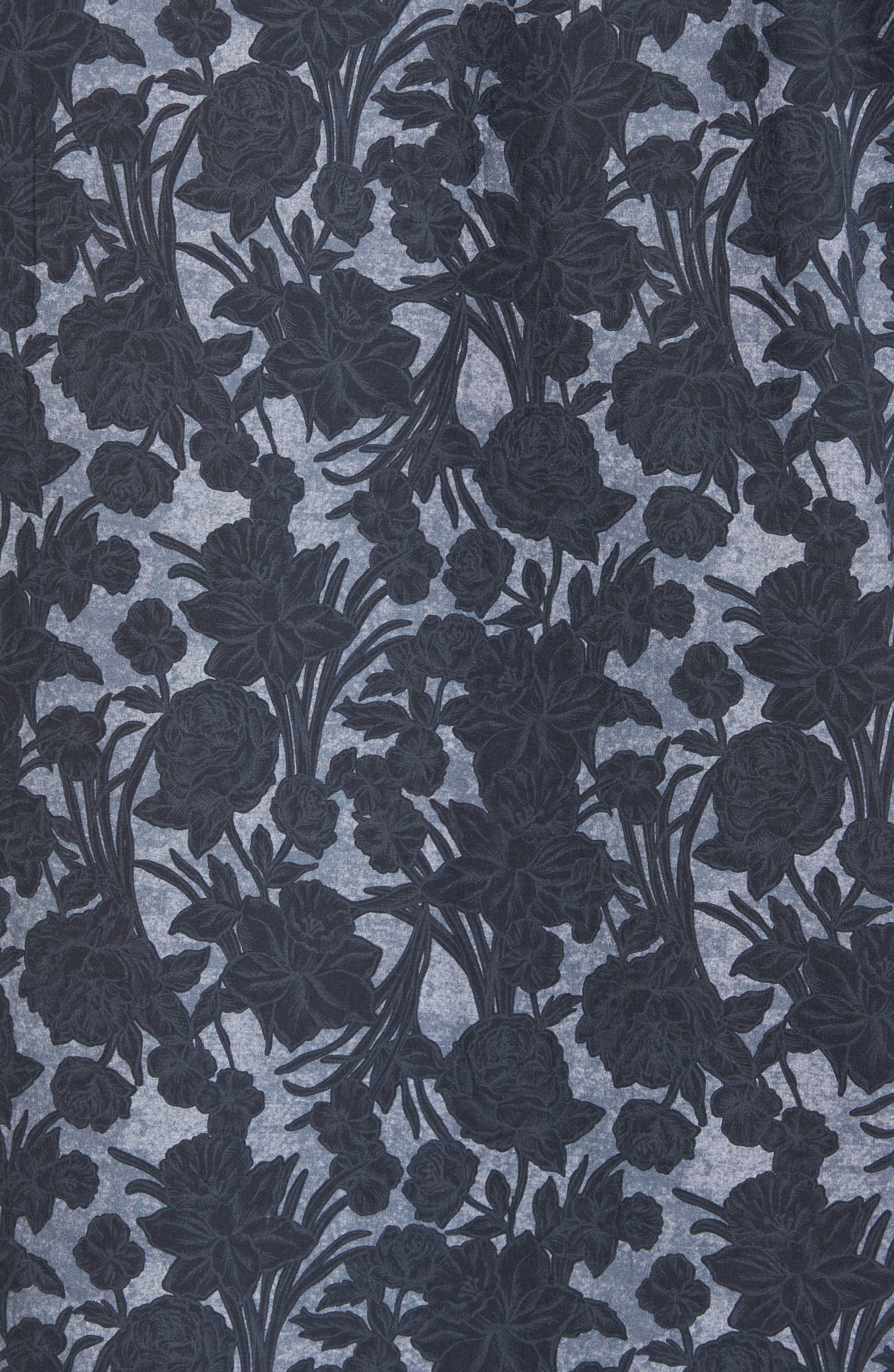 Sunday Woven Shirt,                             Alternate thumbnail 5, color,                             001