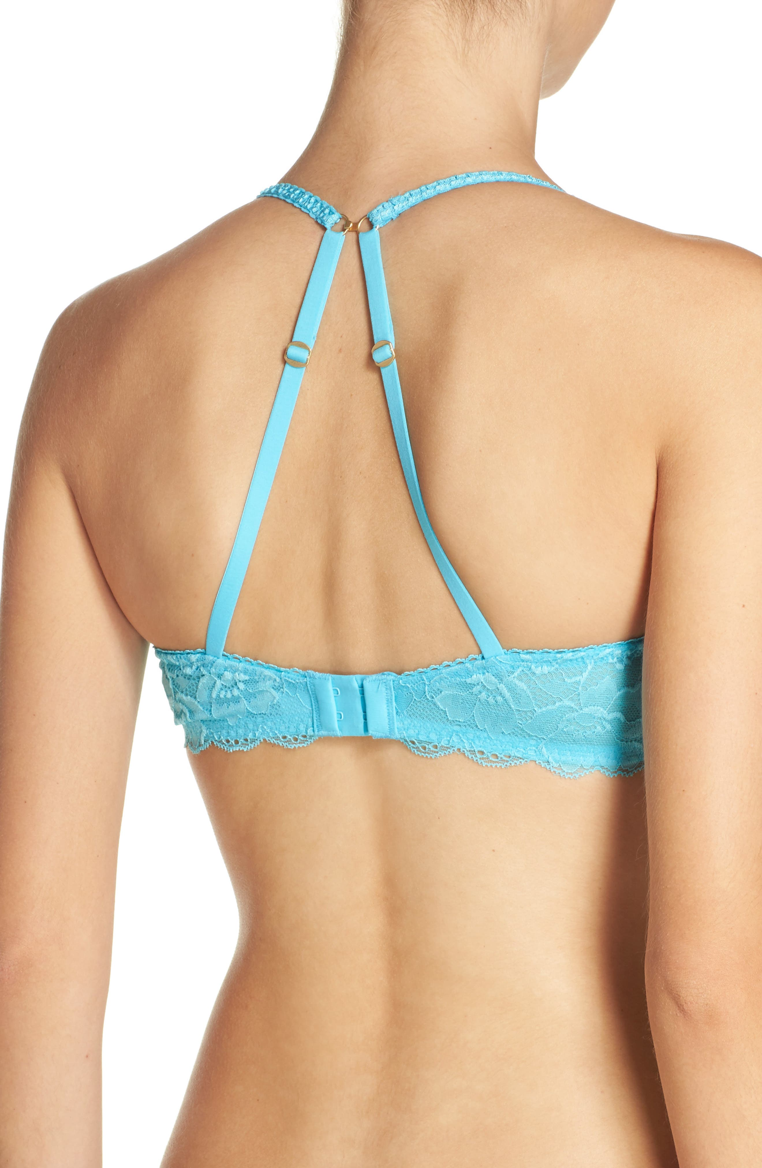 Skinz Underwire Push-Up Bra,                             Alternate thumbnail 24, color,