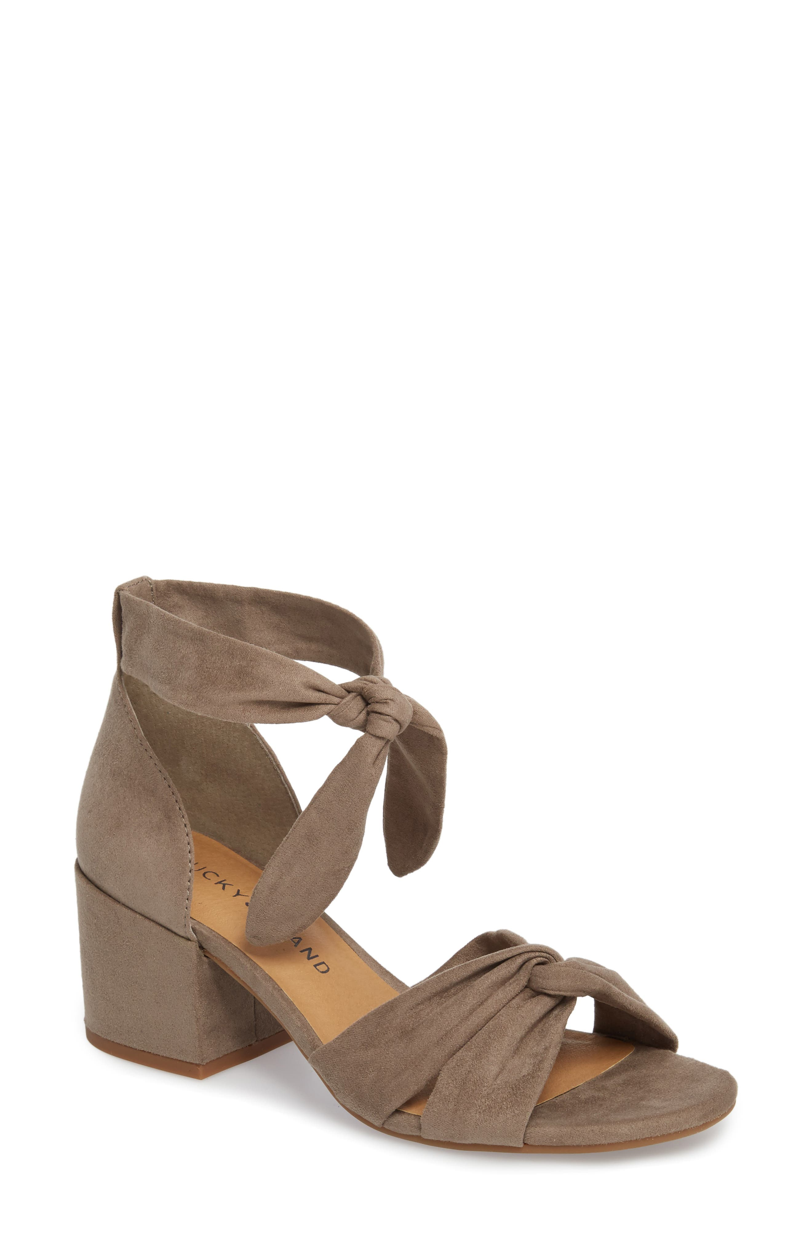 Xaylah Ankle Strap Sandal,                             Main thumbnail 4, color,