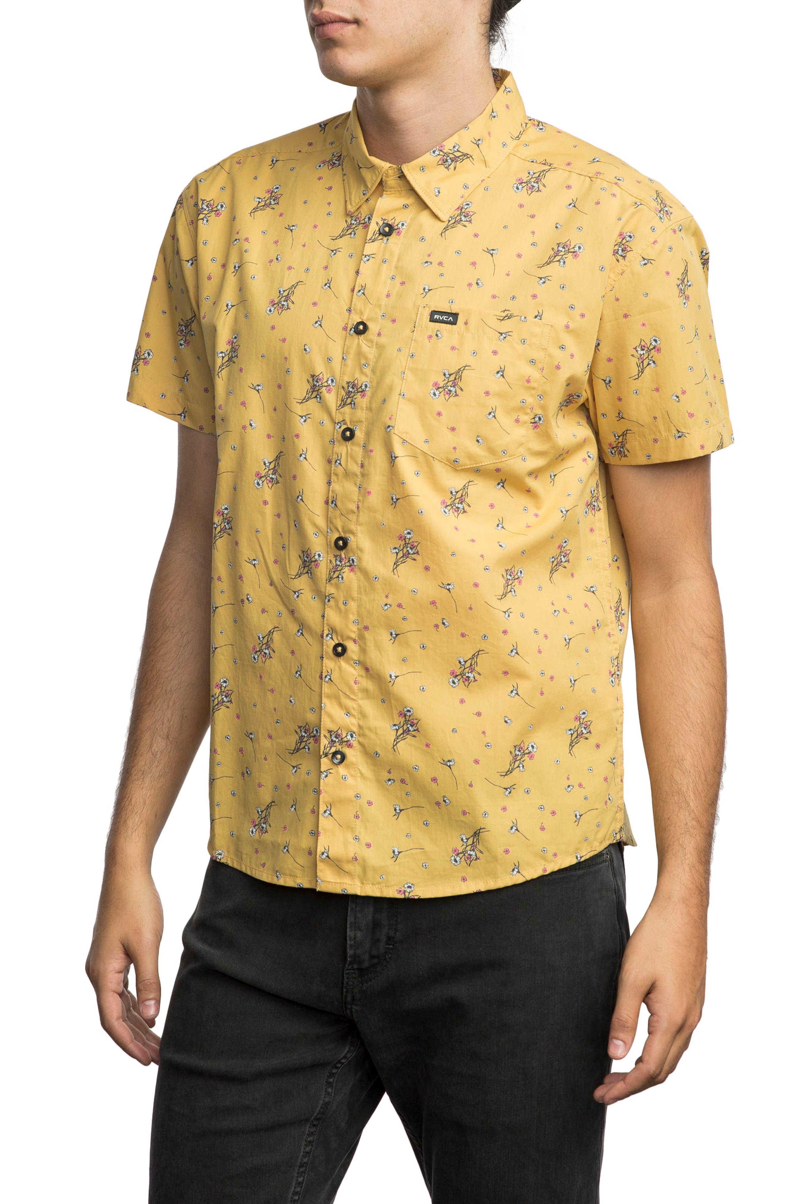 Print Woven Shirt,                             Alternate thumbnail 9, color,