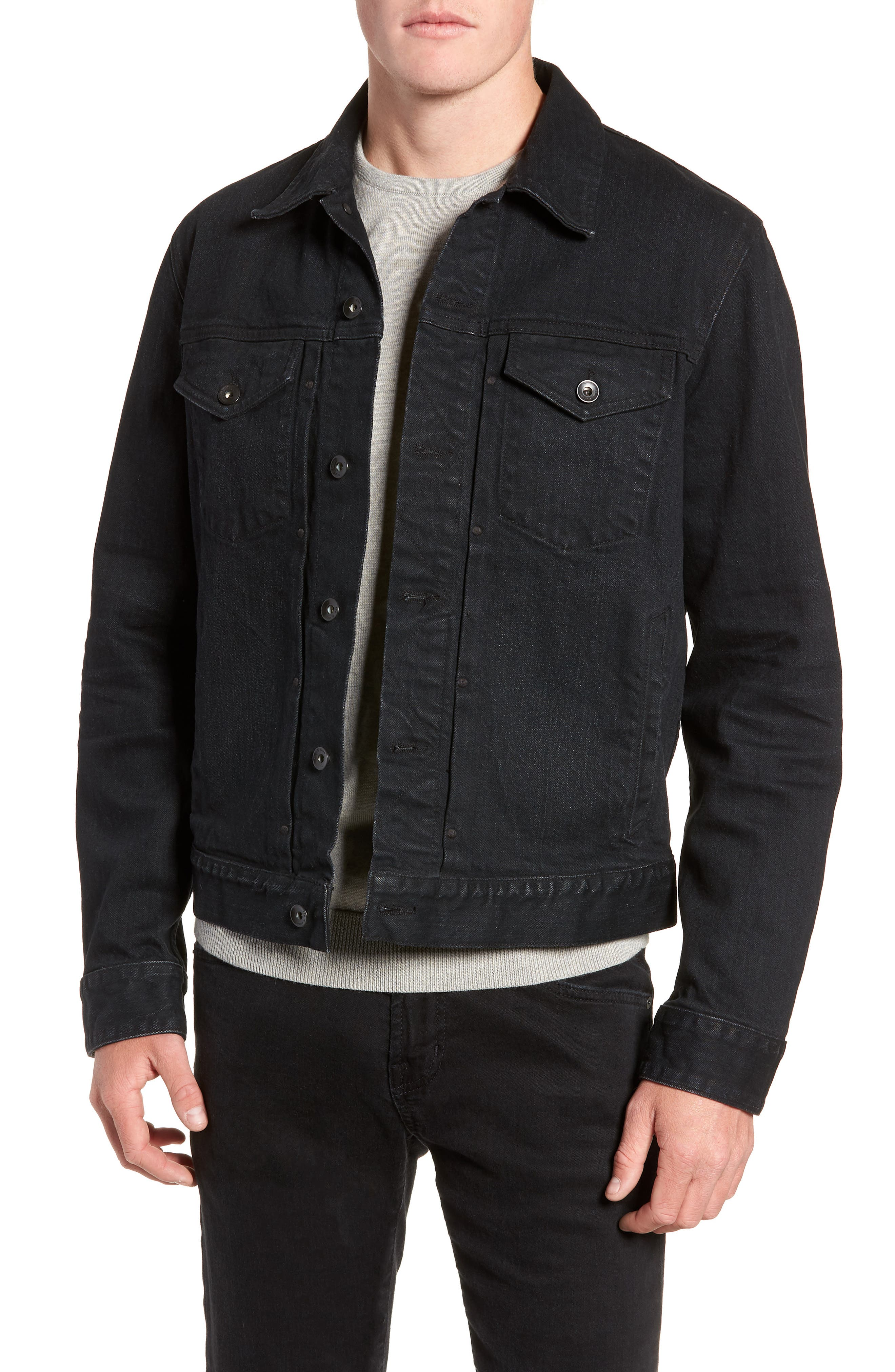 Definitive Jean Jacket, Main, color, 012