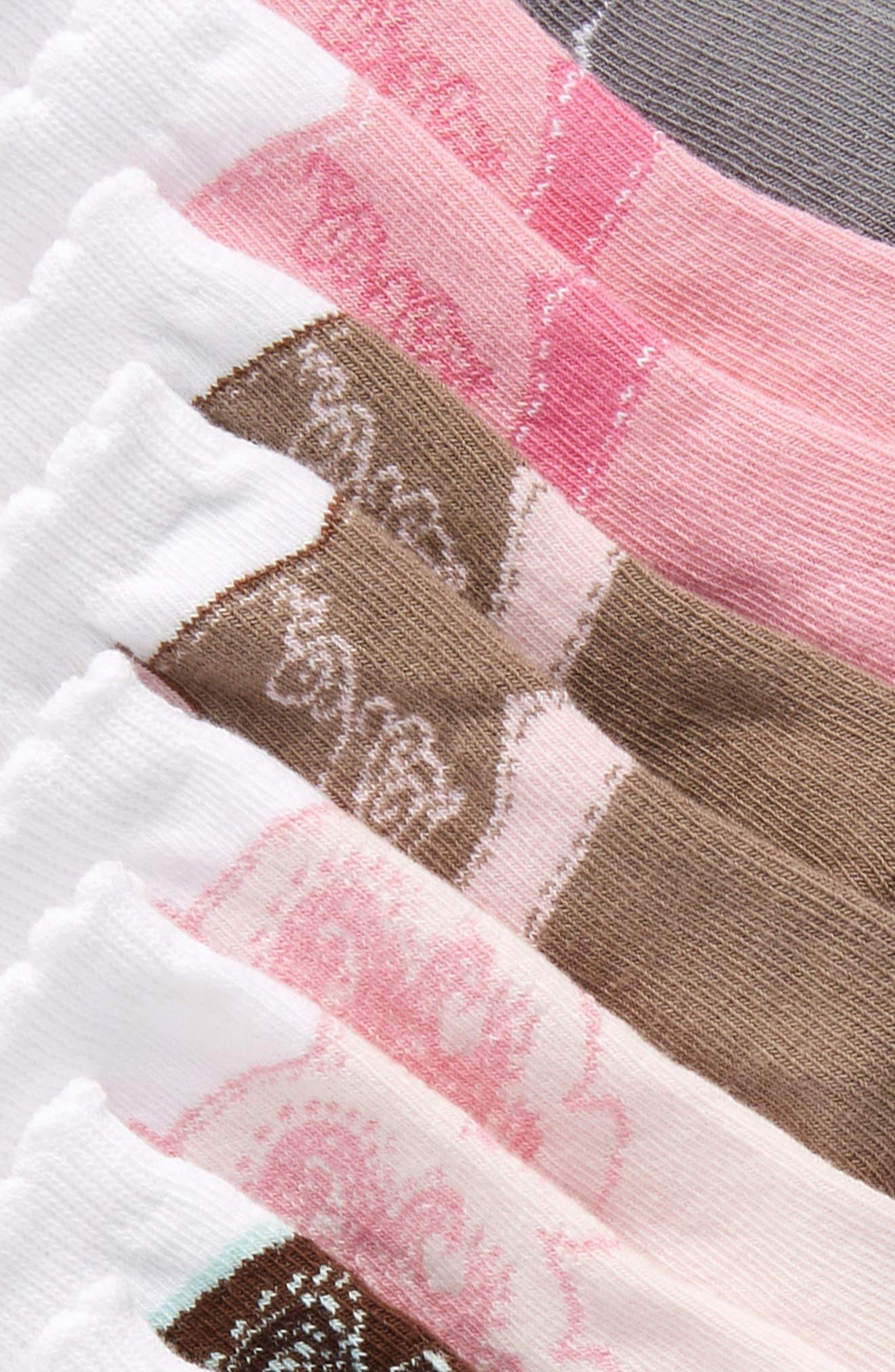 Stella 6-Pack Socks,                             Alternate thumbnail 3, color,                             650