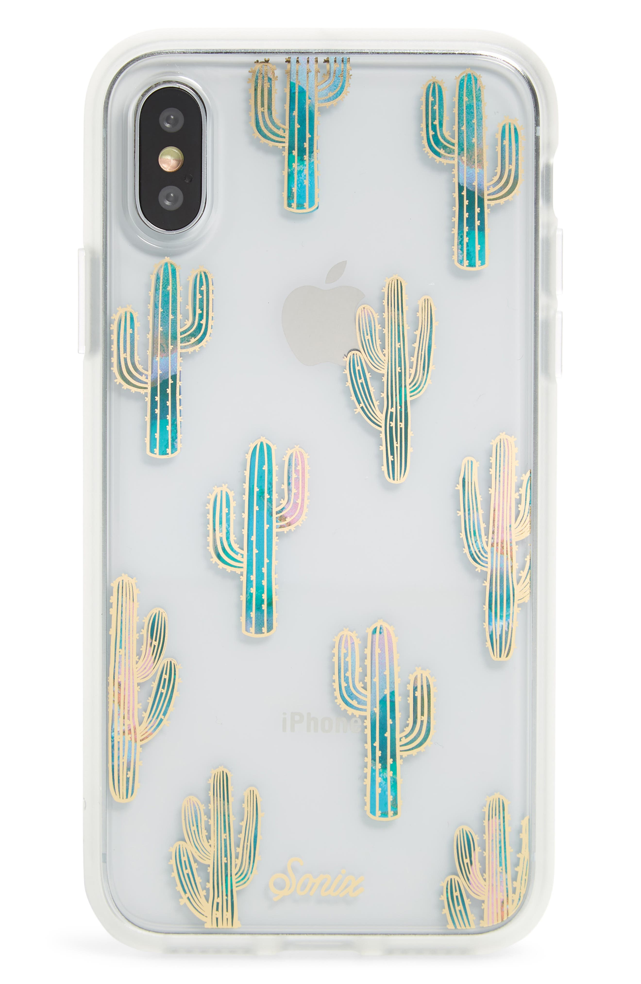 Mojave iPhone X/Xs, XR & X Max Case,                             Main thumbnail 1, color,                             TEAL