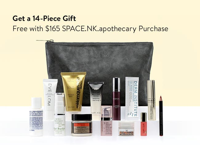Free 14-Piece gift with purchase.