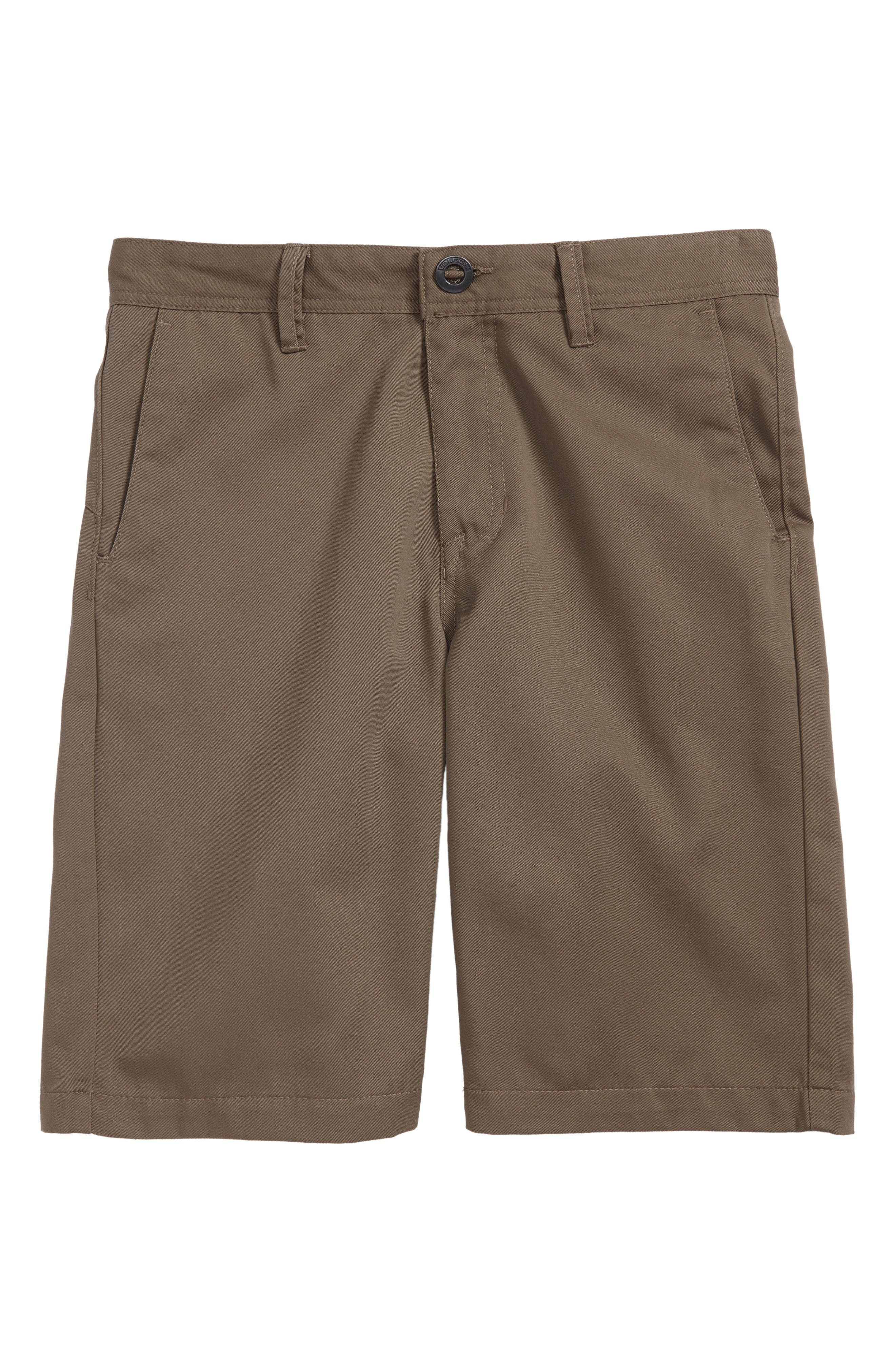Chino Shorts,                             Main thumbnail 1, color,                             MUSHROOM