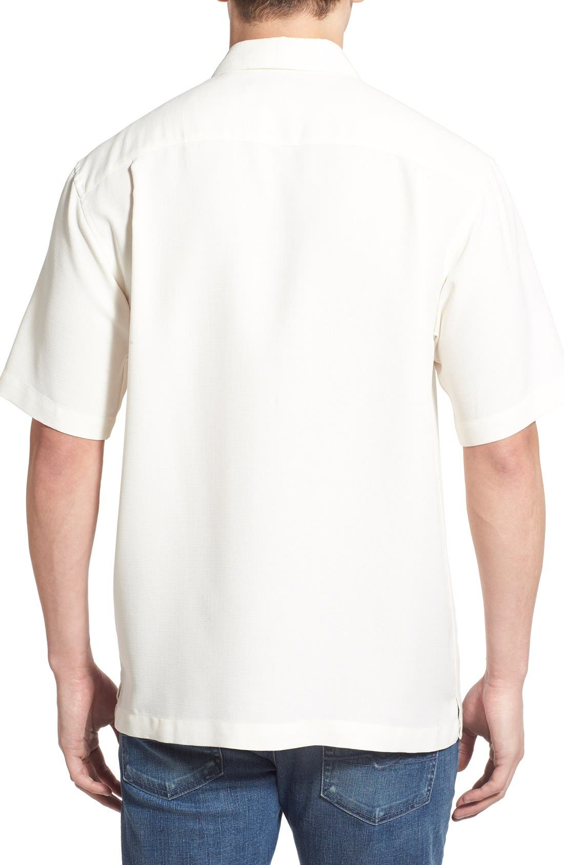 'Wind N Sea' Regular Fit Sport Shirt,                             Alternate thumbnail 4, color,                             OFF WHITE