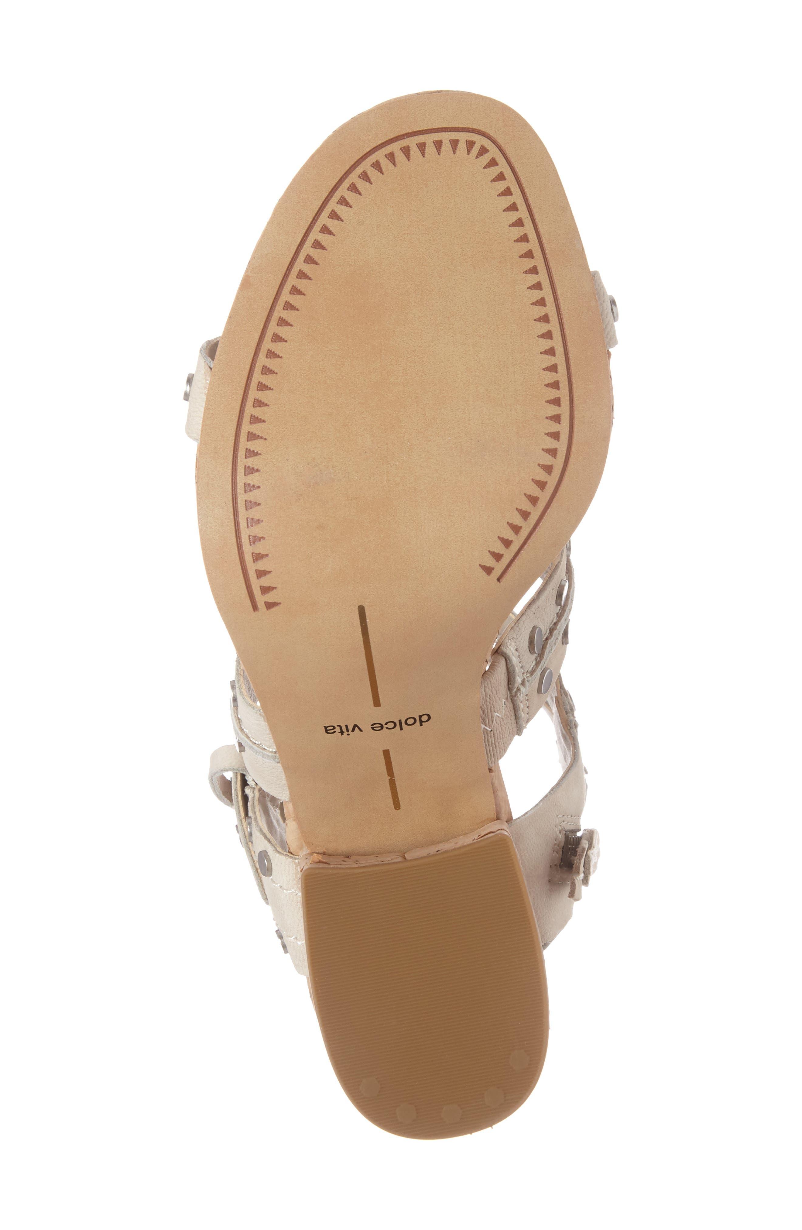 Effie Block Heel Sandal,                             Alternate thumbnail 4, color,                             200