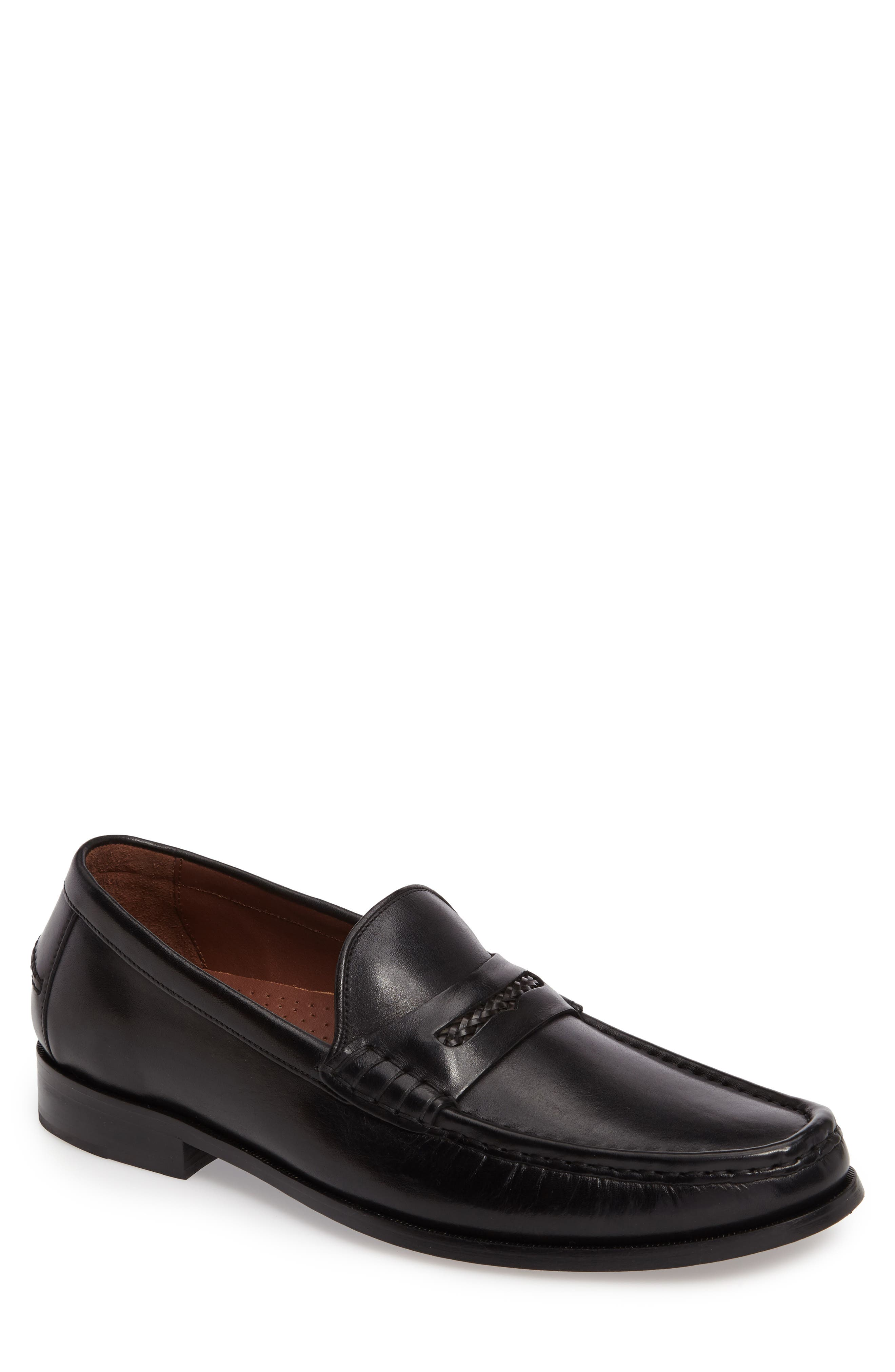 'Pinch Gotham' Penny Loafer,                             Main thumbnail 1, color,                             001