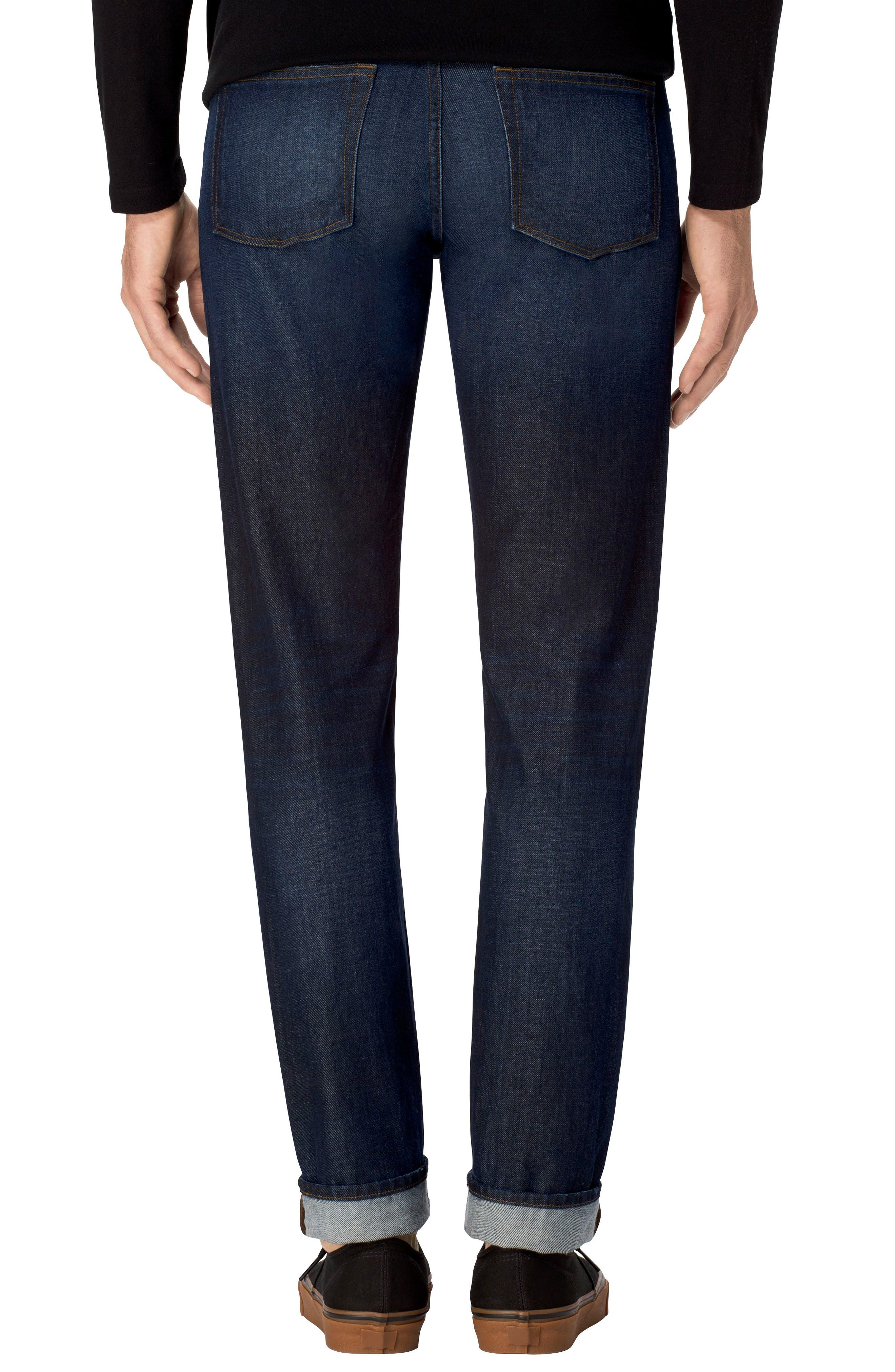 Tyler Slim Fit Jeans,                             Alternate thumbnail 2, color,                             401