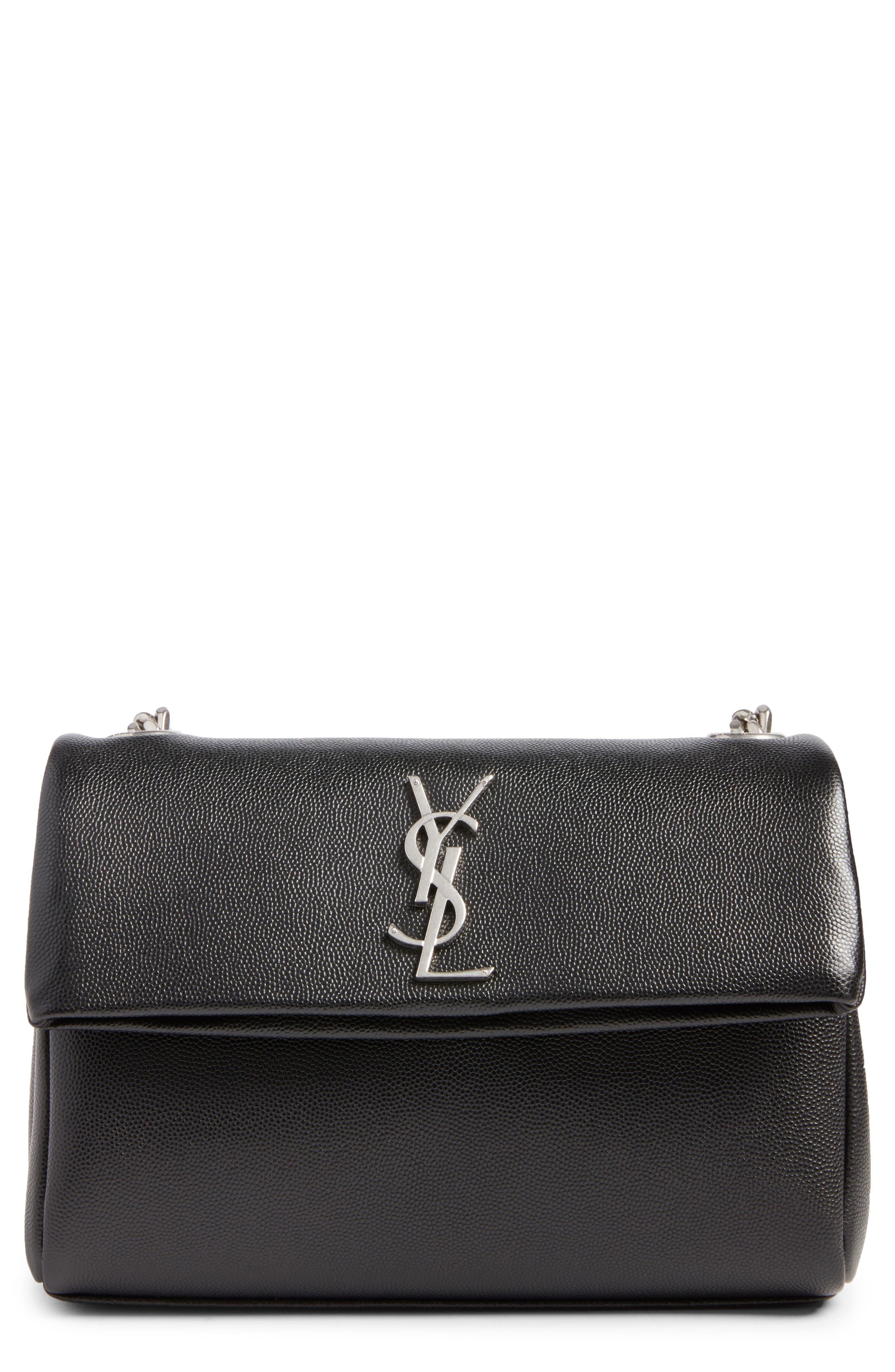 West Hollywood Calfskin Leather Messenger Bag,                             Main thumbnail 2, color,