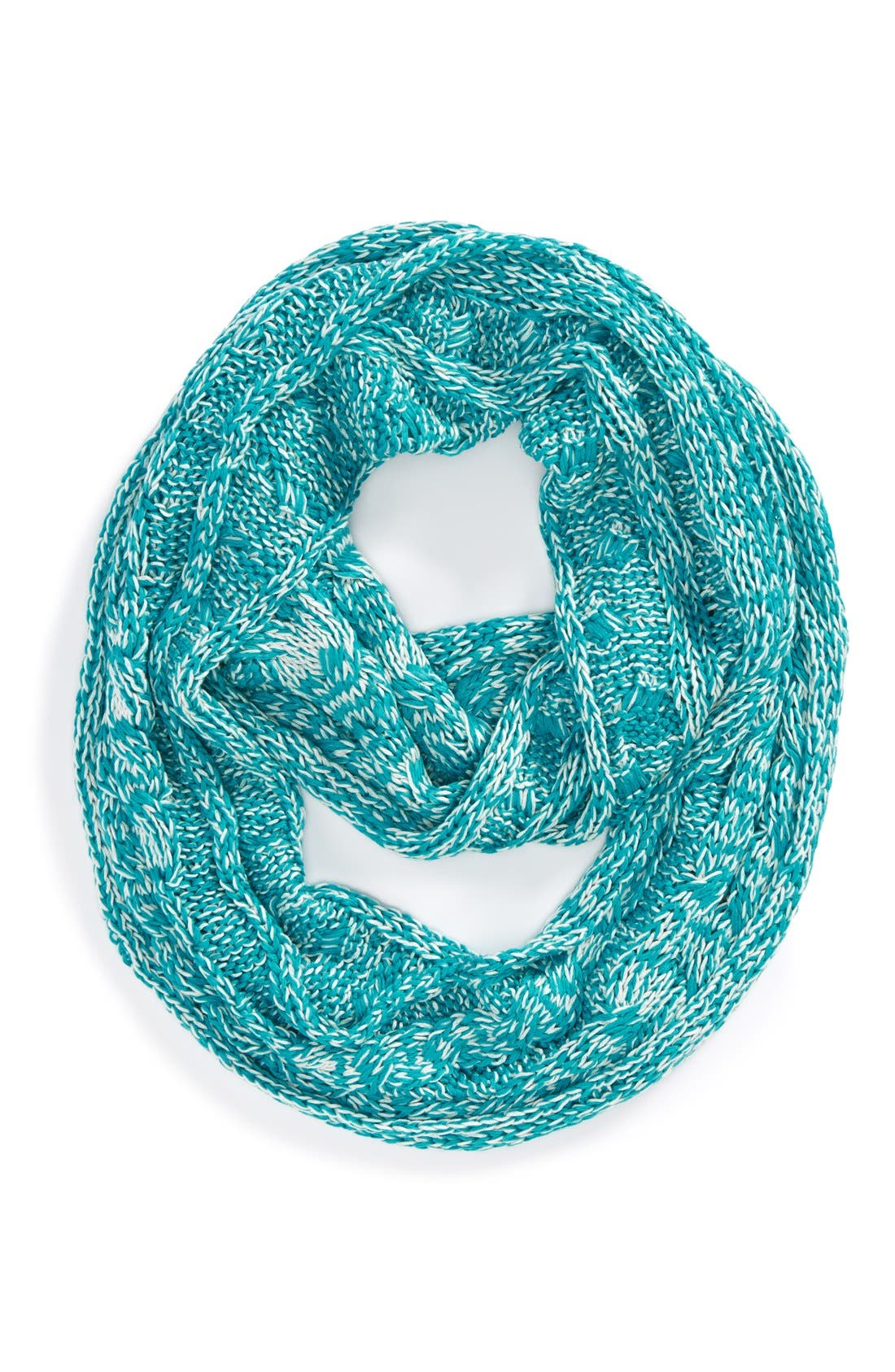 Neon Cable Knit Scarf,                             Main thumbnail 1, color,                             430
