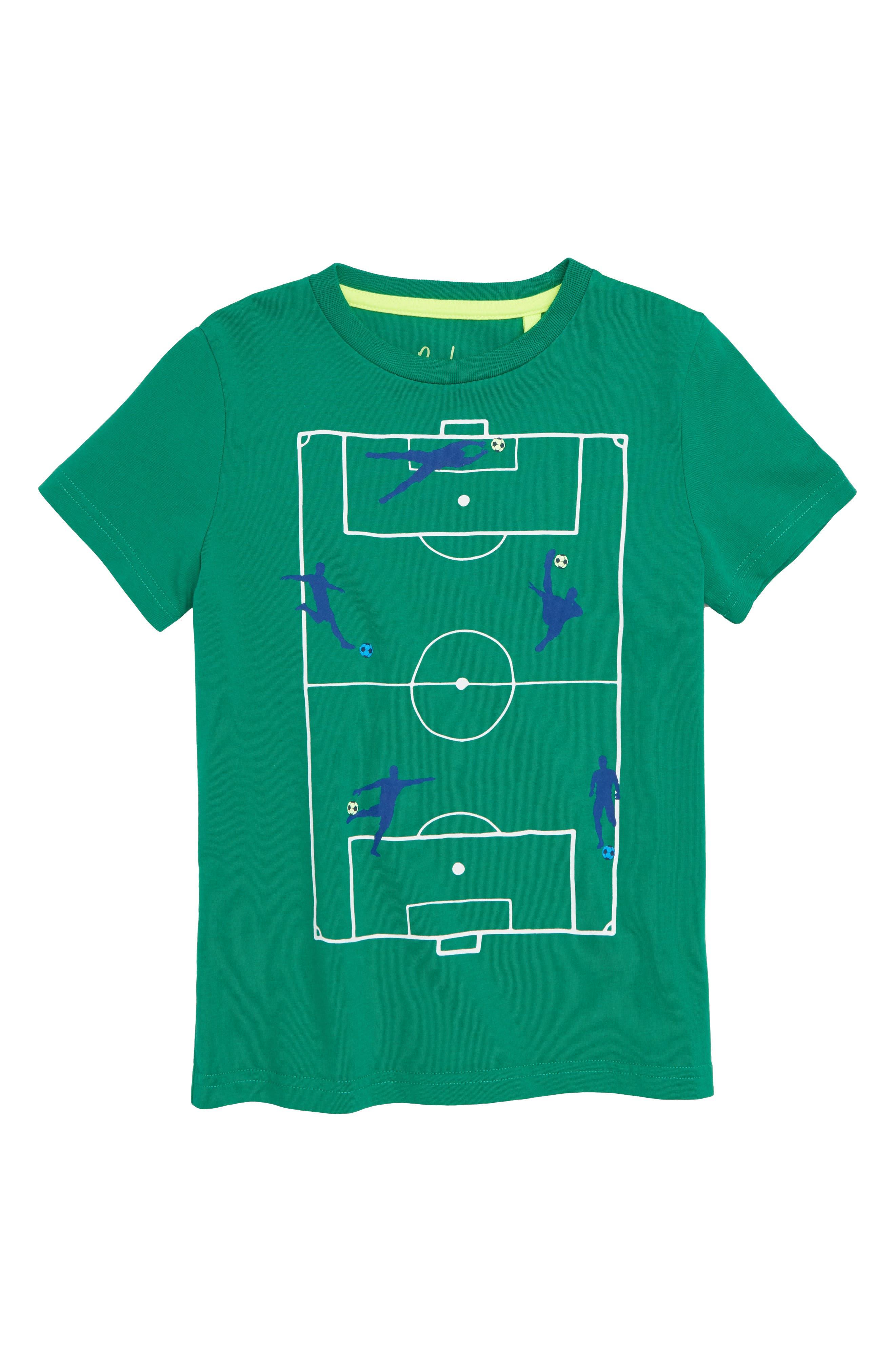 Sporty T-Shirt,                         Main,                         color, WATERCRESS GREEN