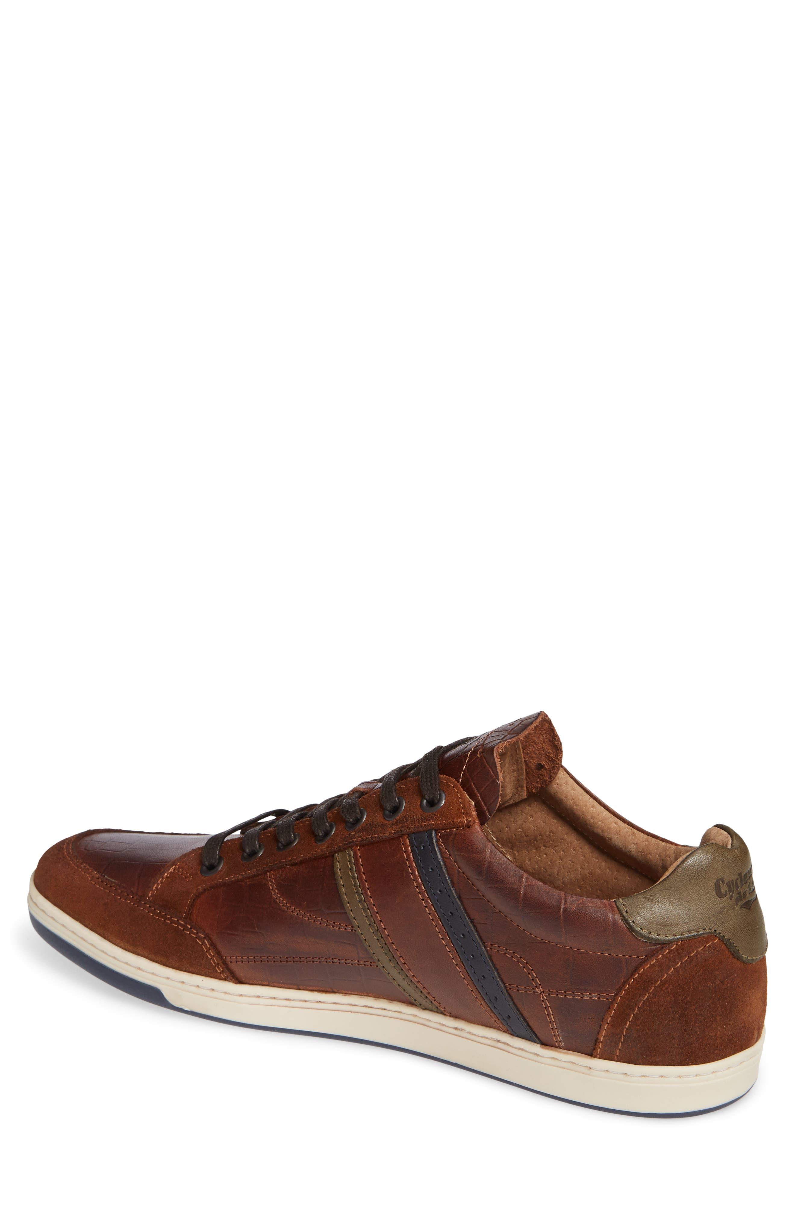 Preston Sneaker,                             Alternate thumbnail 2, color,                             COGNAC
