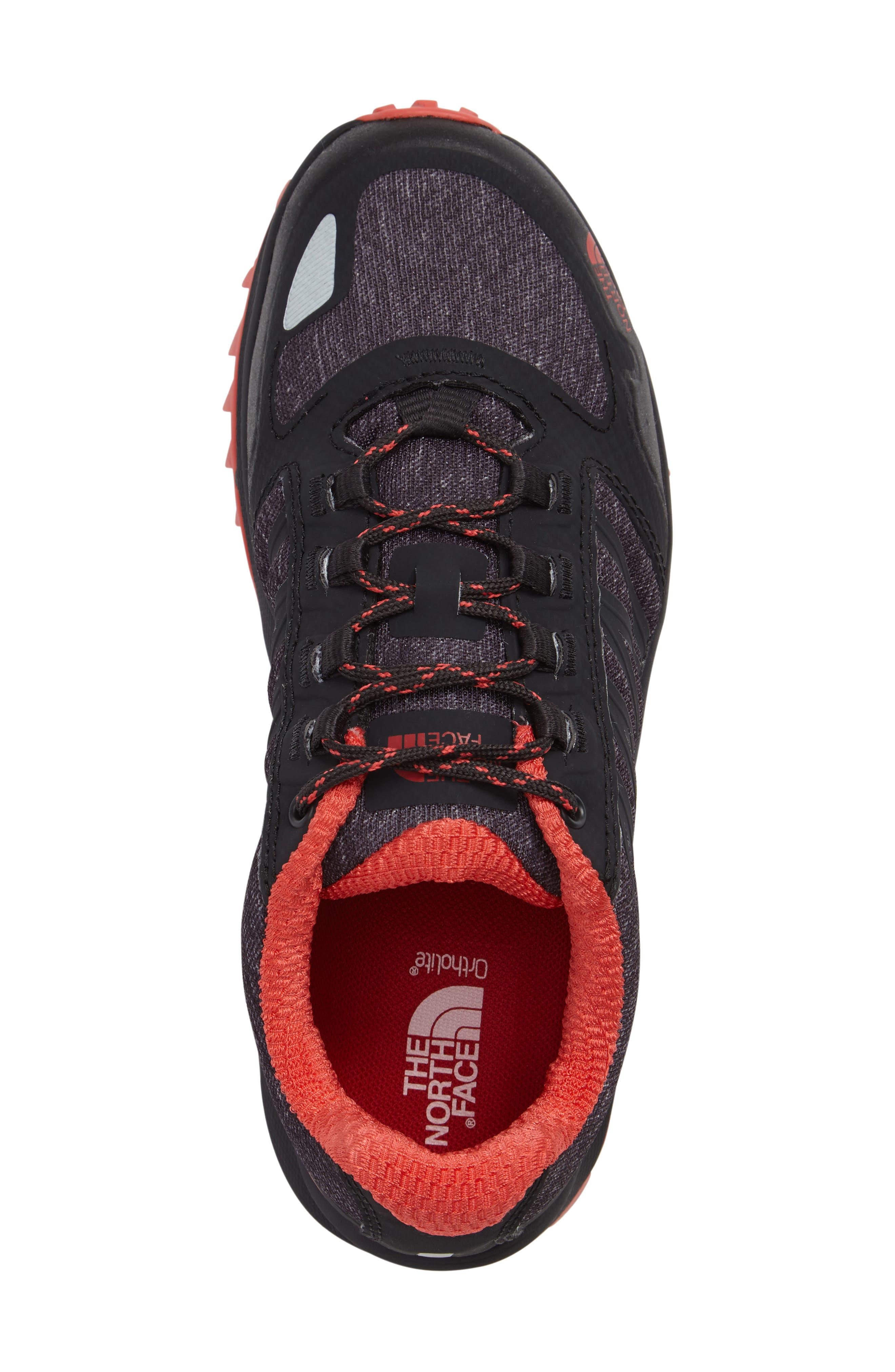 Litewave II Trail Running Shoe,                             Alternate thumbnail 3, color,                             001