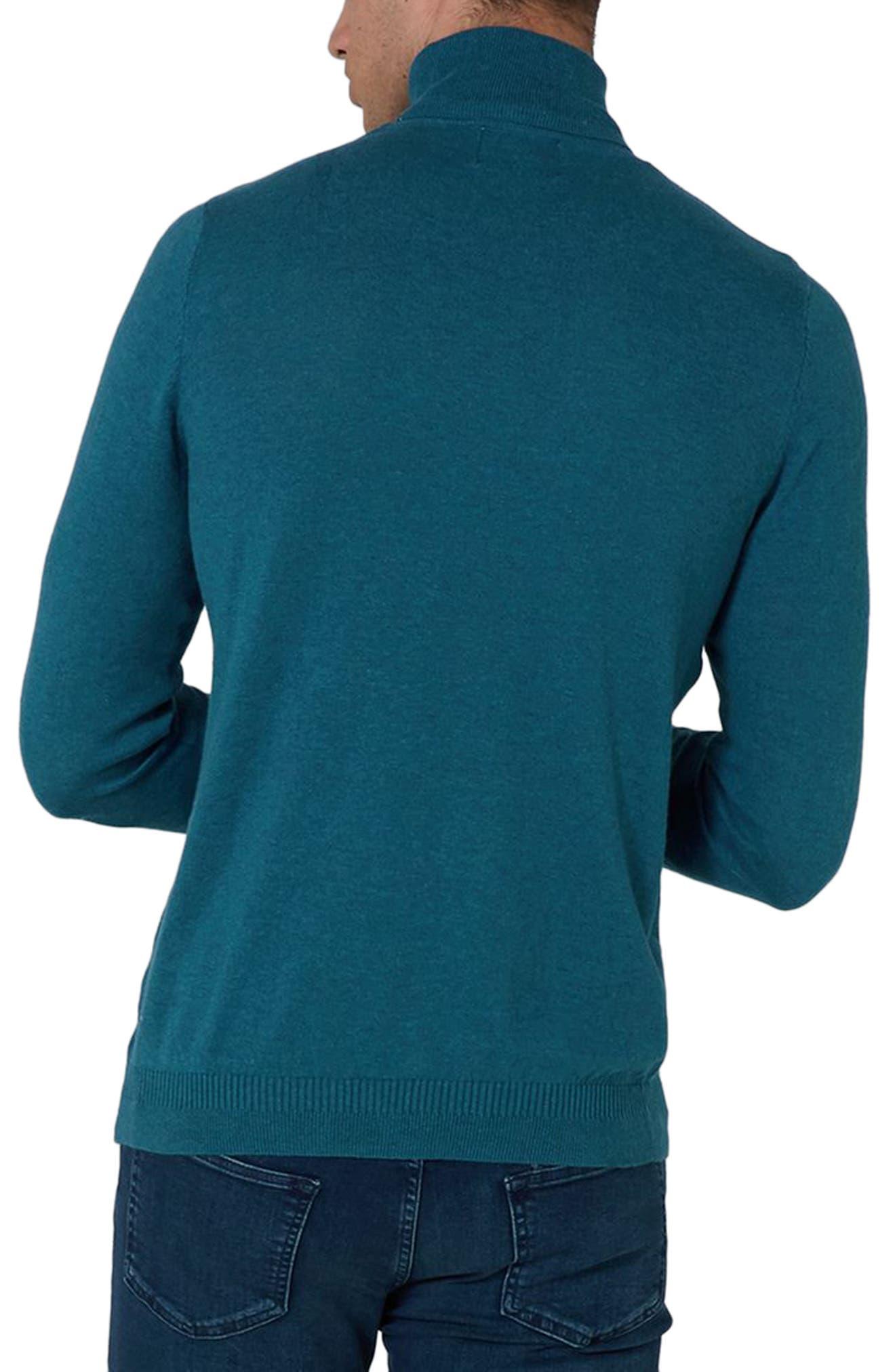Cotton Turtleneck Sweater,                             Alternate thumbnail 5, color,