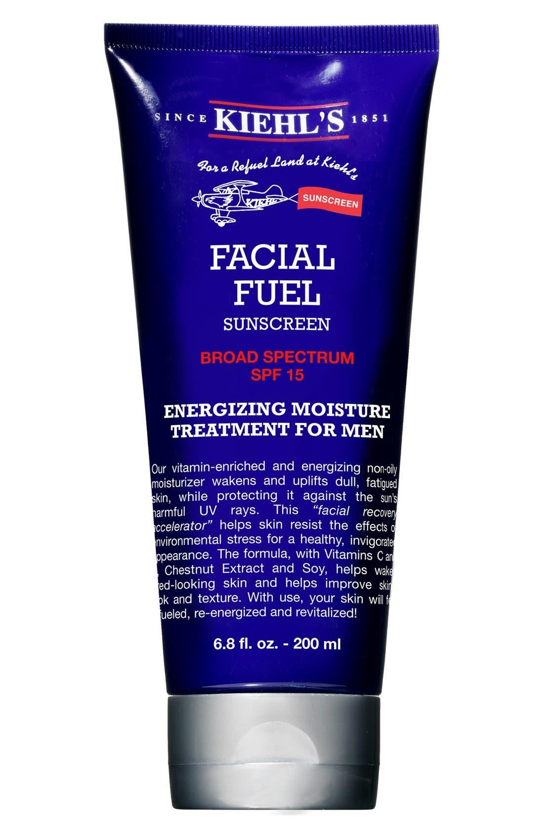 'Facial Fuel' SPF 15 Sunscreen,                             Alternate thumbnail 3, color,                             000