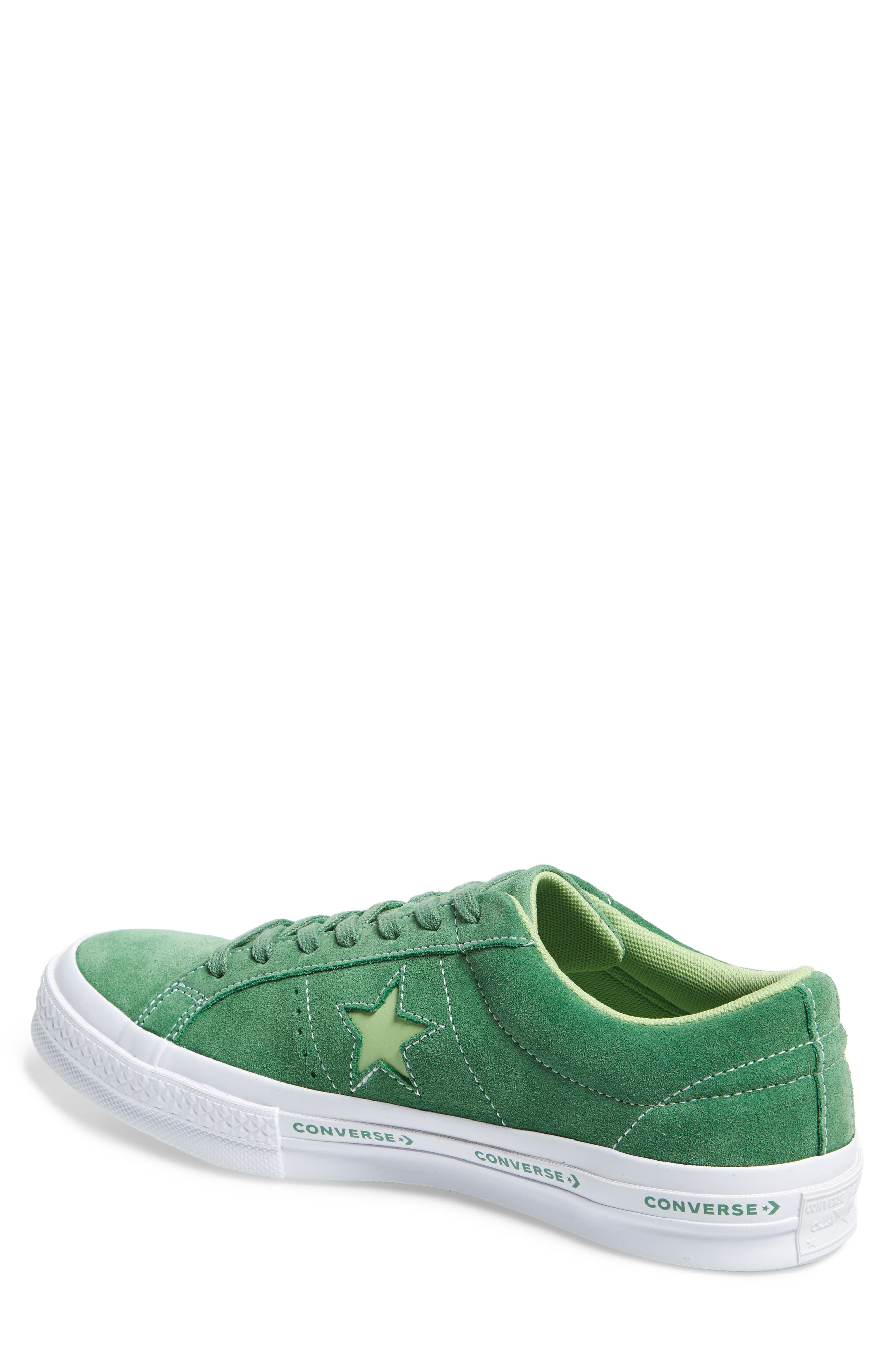 Chuck Taylor<sup>®</sup> One Star Pinstripe Sneaker,                             Alternate thumbnail 2, color,                             350