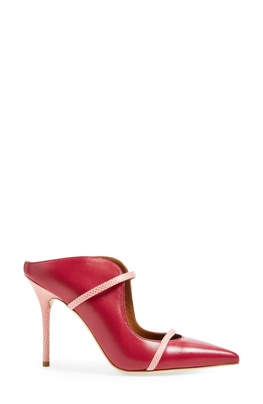 'Maureen' Pointy Toe Mule,                             Alternate thumbnail 19, color,